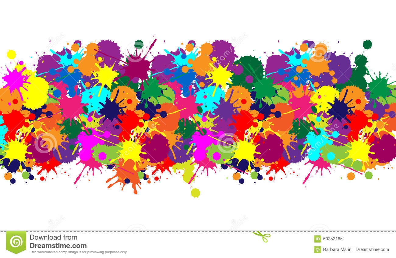illustrator colorful texture for background and carnival stock