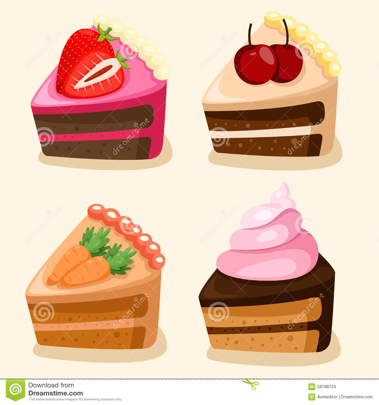 Birthday Cake Illustrator