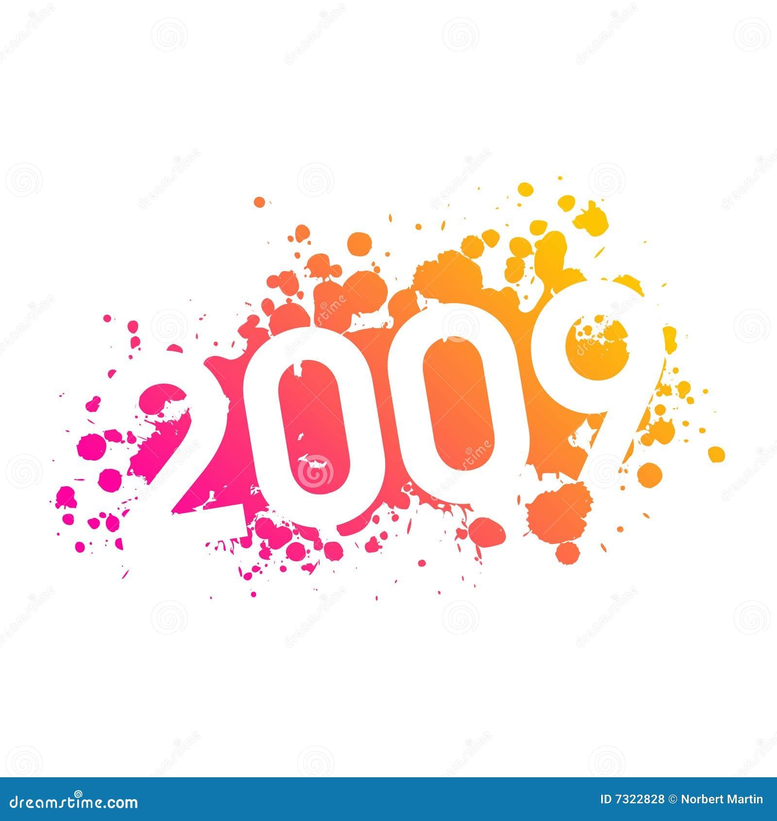 Illustrazione 2009 di anno
