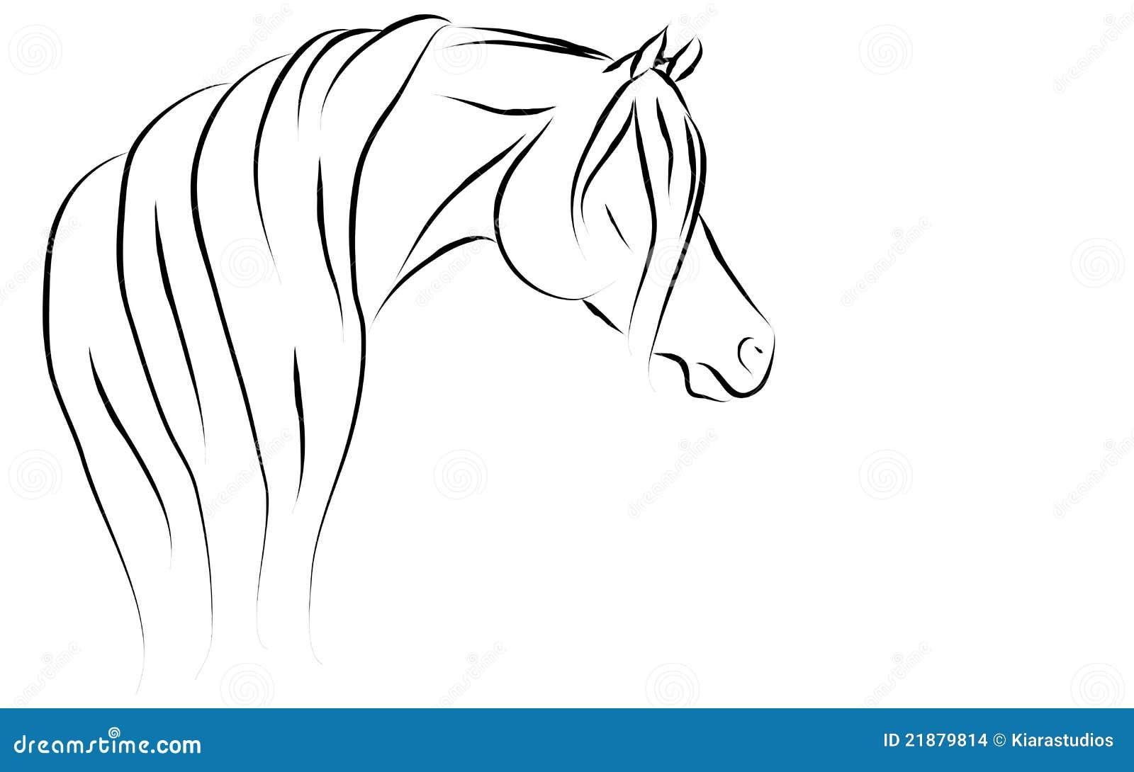 Illustrazione araba stilizzata di vettore immagini stock for Immagini cavalli stilizzati