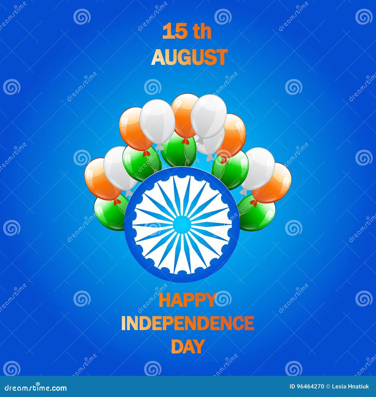 adf9fa6d433b Illustrazione creativa di vettore dell India di festa dell indipendenza nel  colore della bandiera nazionale