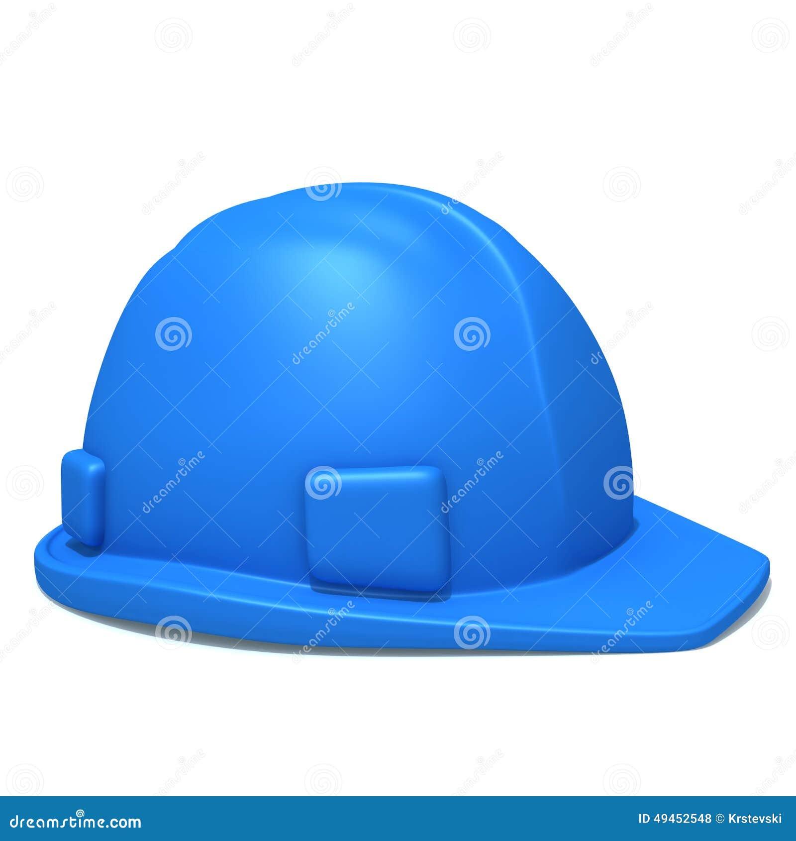 Illustrazione del casco 3d della costruzione