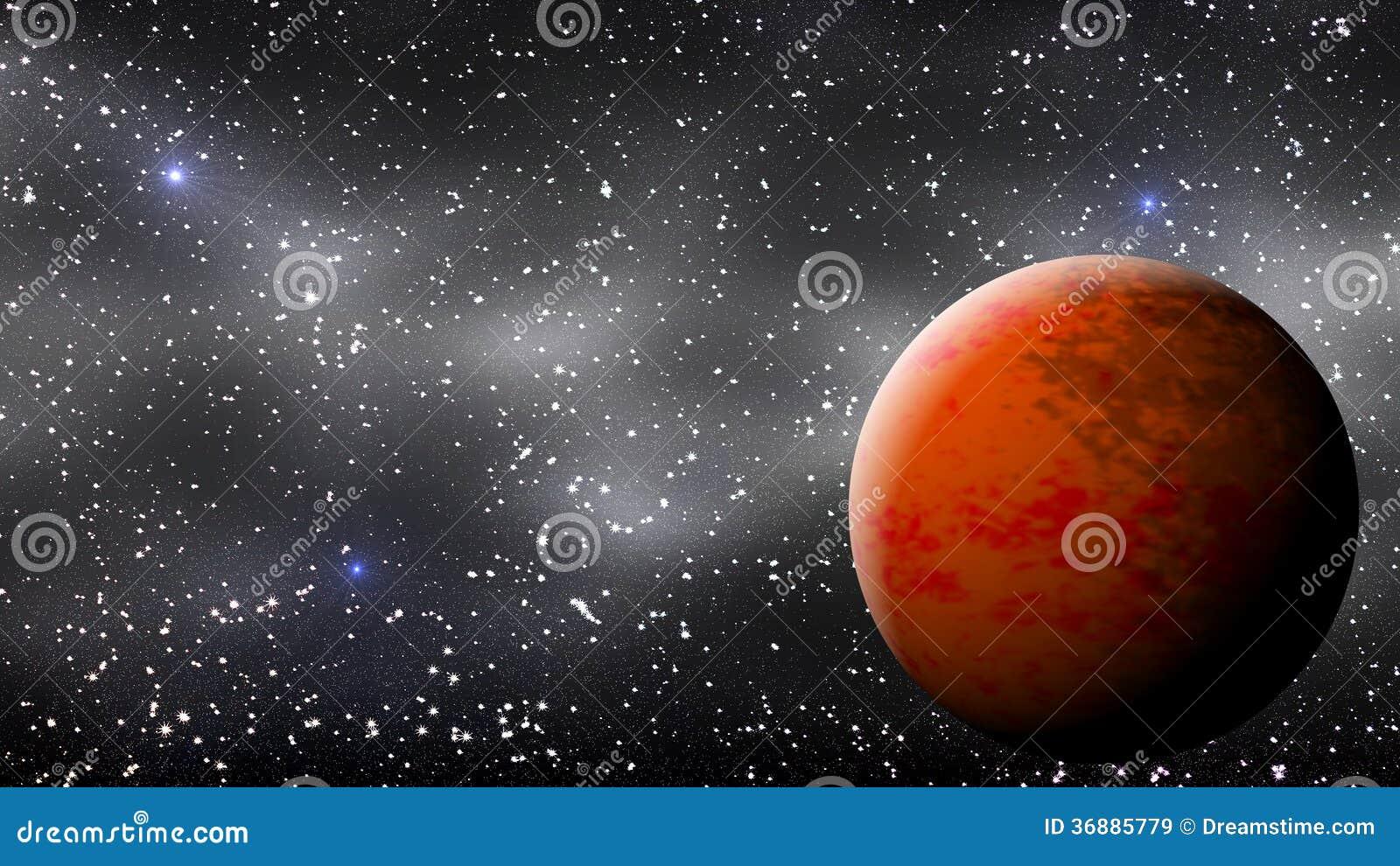 Download Illustrazione 2 Del Fondo Di Marte Illustrazione di Stock - Illustrazione di yellow, solare: 36885779