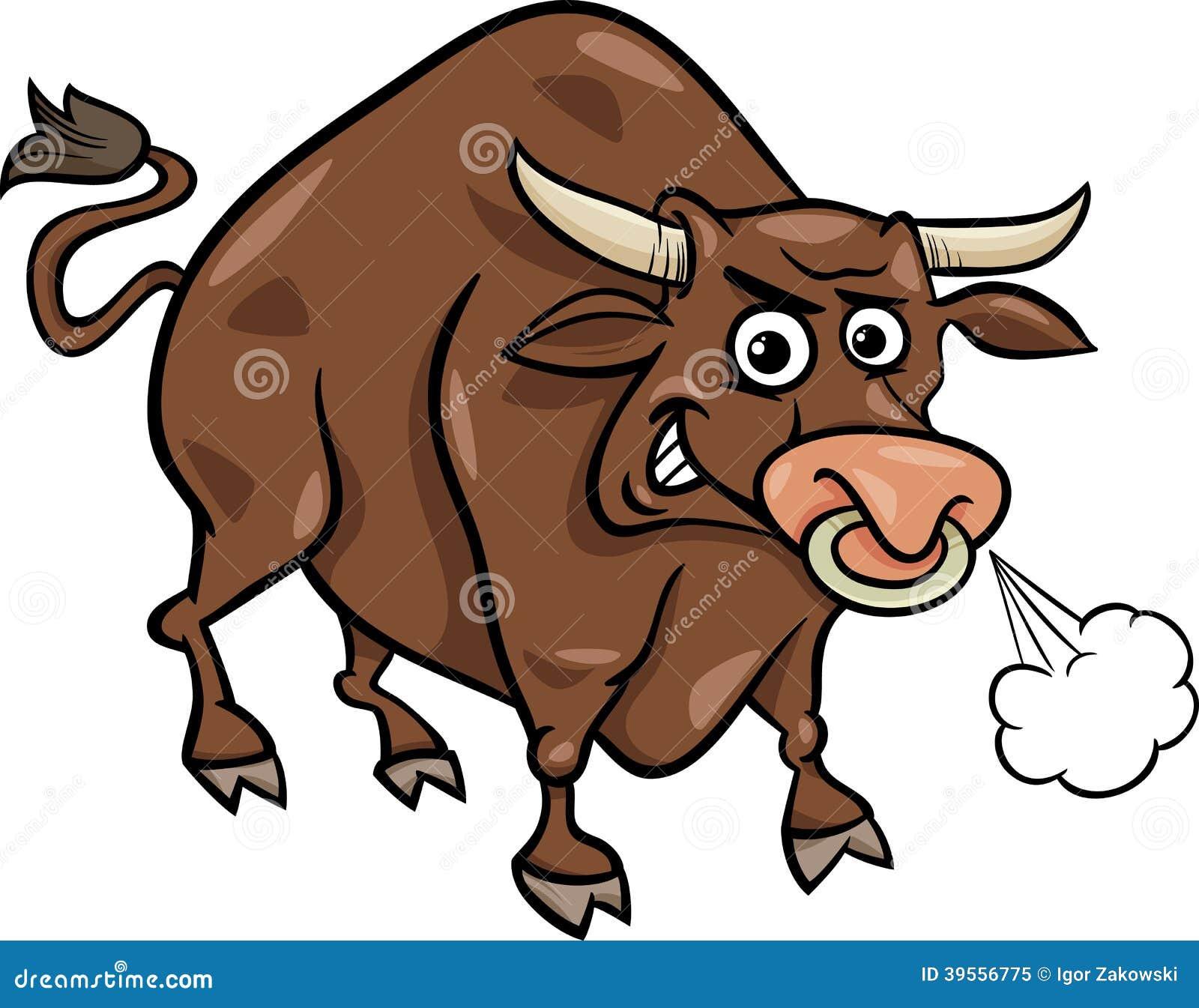 Illustrazione del fumetto dell animale da allevamento