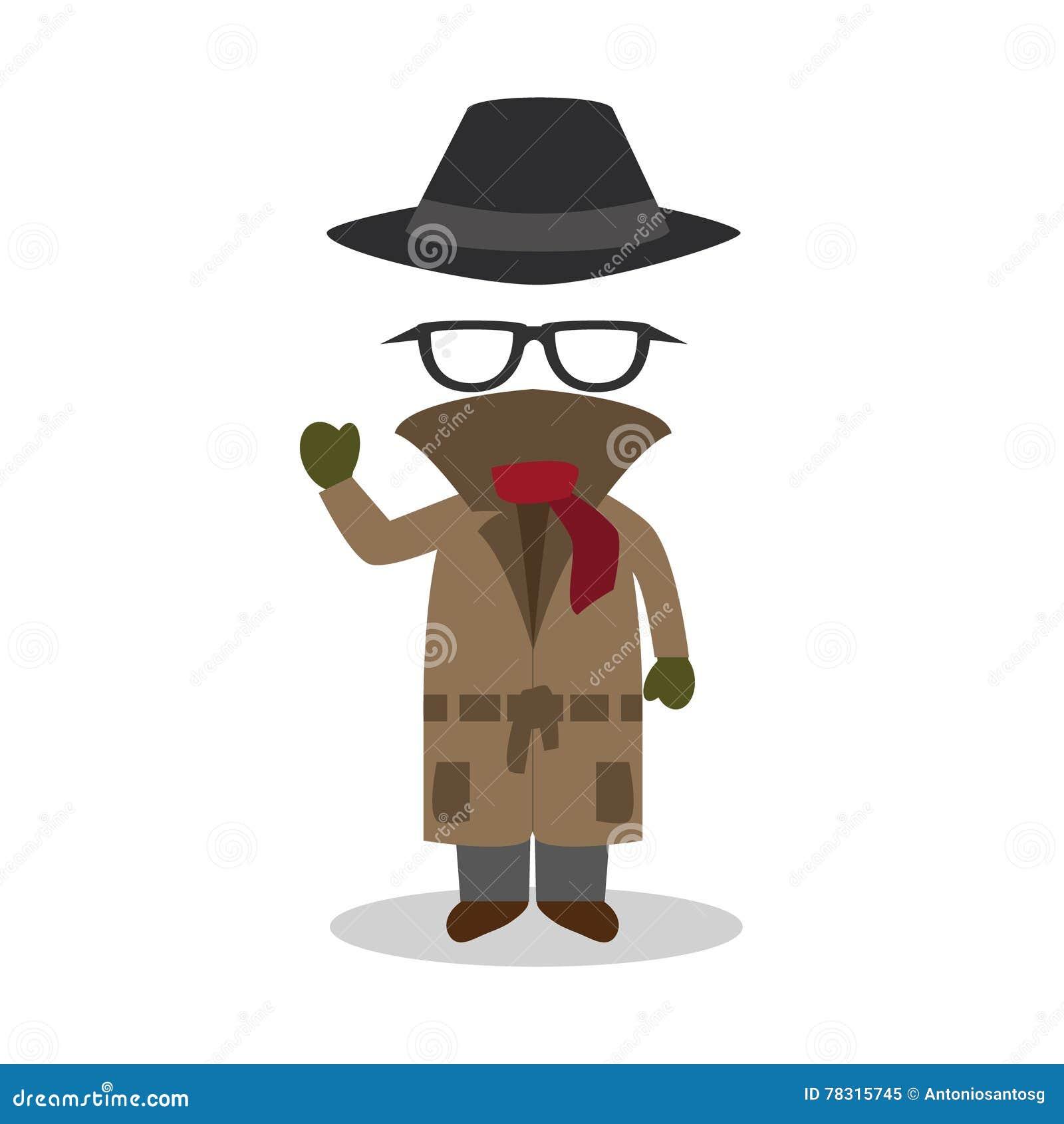 Illustrazione del fumetto dell uomo invisibile illustrazione