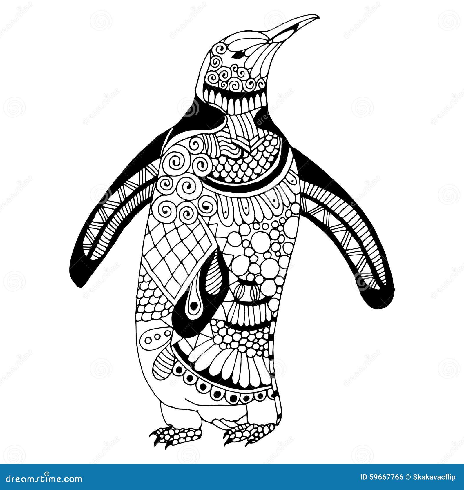 Illustrazione del pinguino
