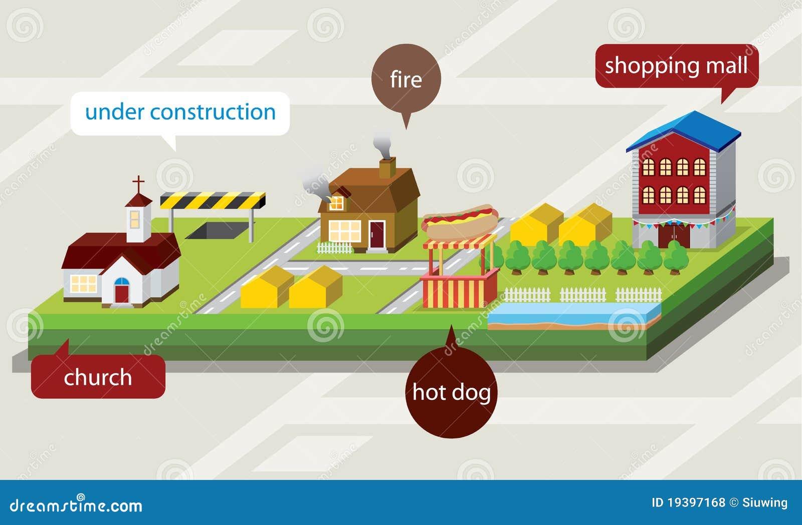 Illustrazione del programma 3d illustrazione vettoriale for Programma architettura gratis