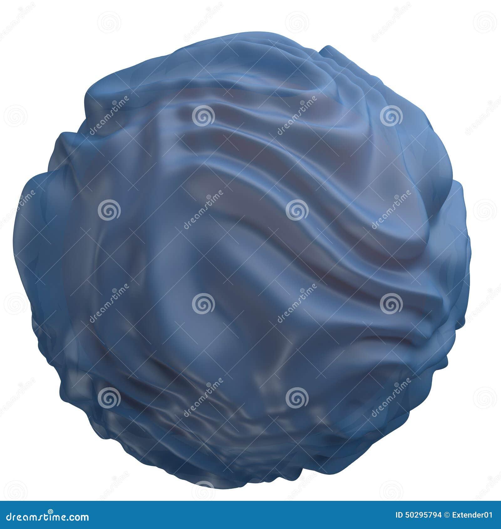 Illustrazione del reticolo endoplasmatico