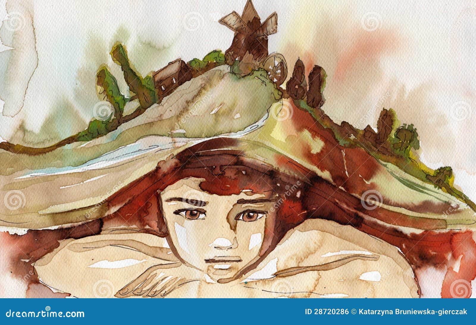 Illustrazione dell acquerello