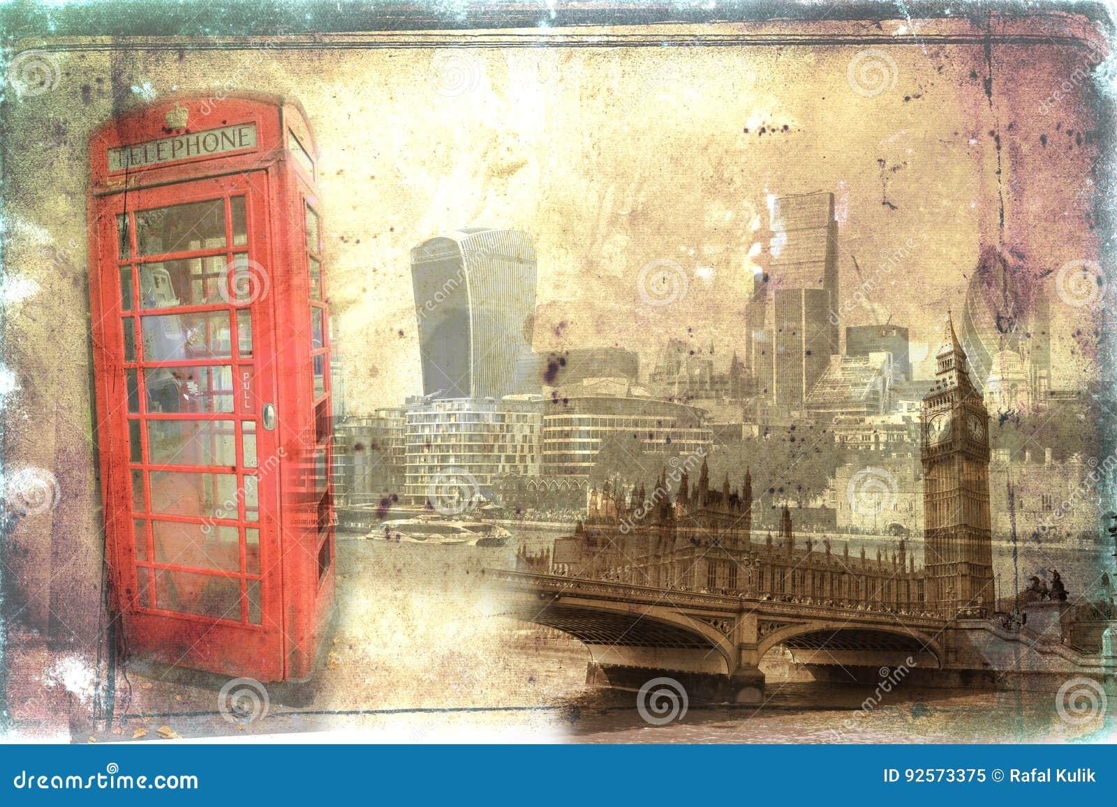 Illustrazione dell annata di arte di Londra