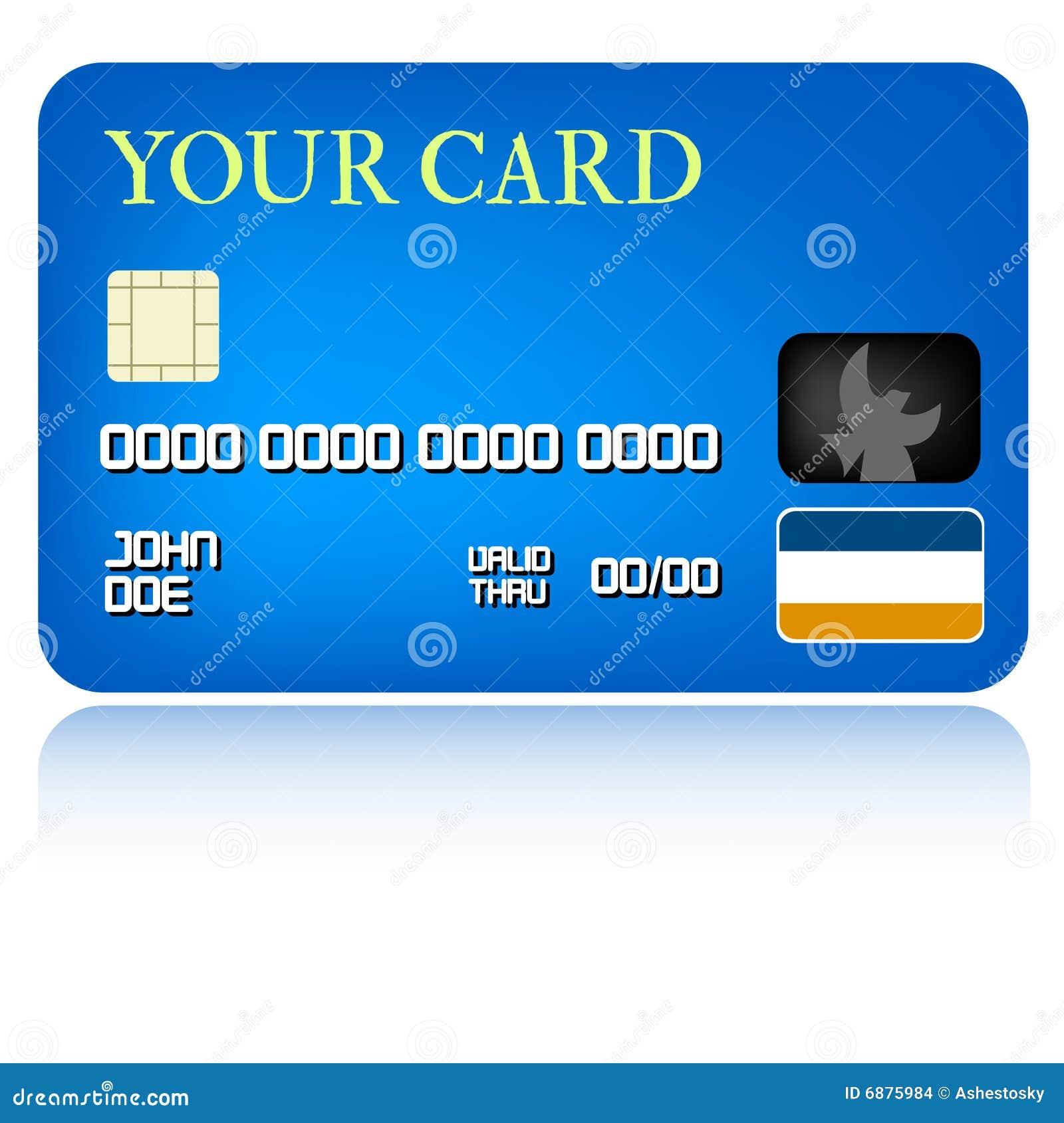 Illustrazione della carta di credito illustrazione for Carta di credito per minorenni