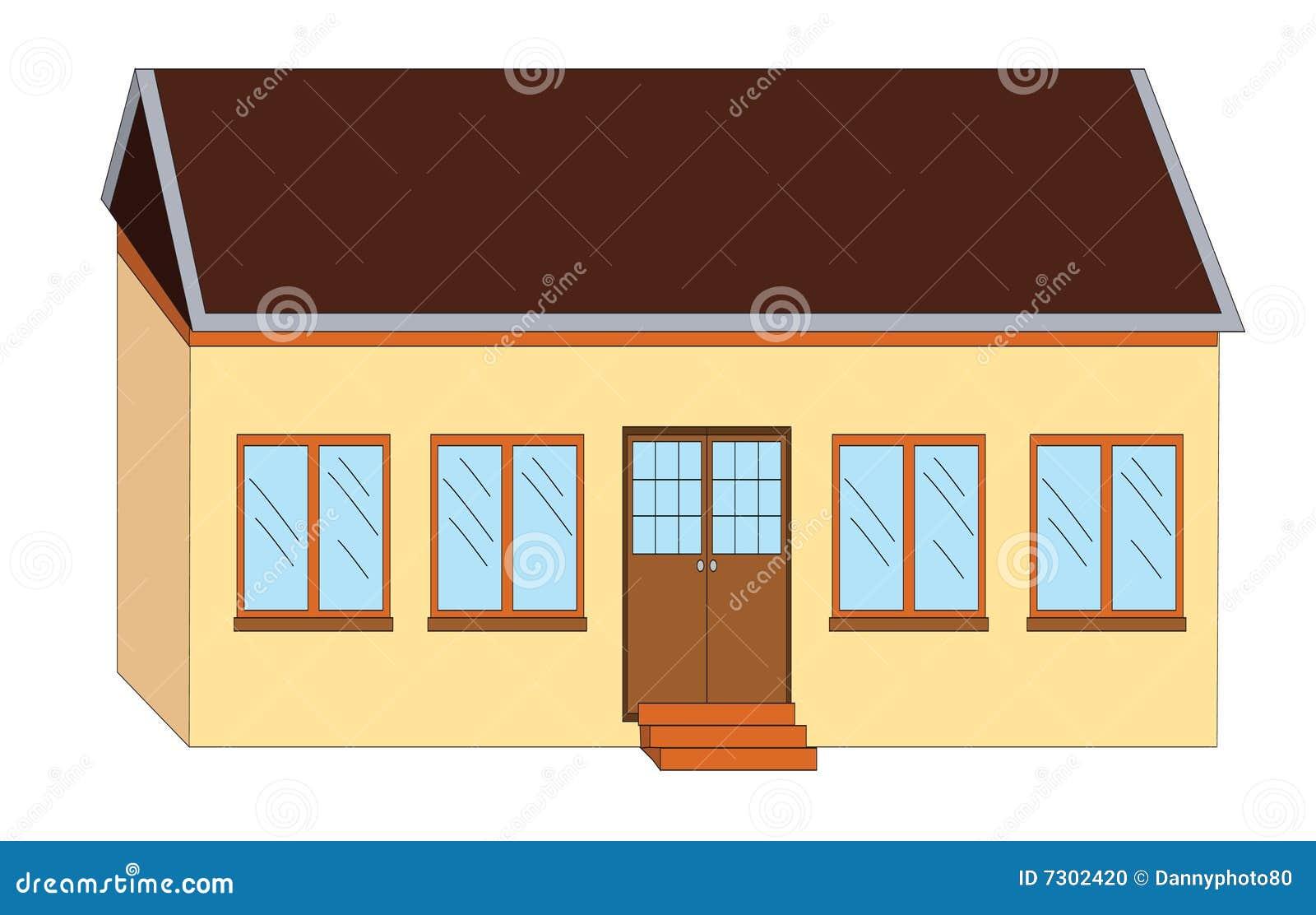 Illustrazione della casa del banco