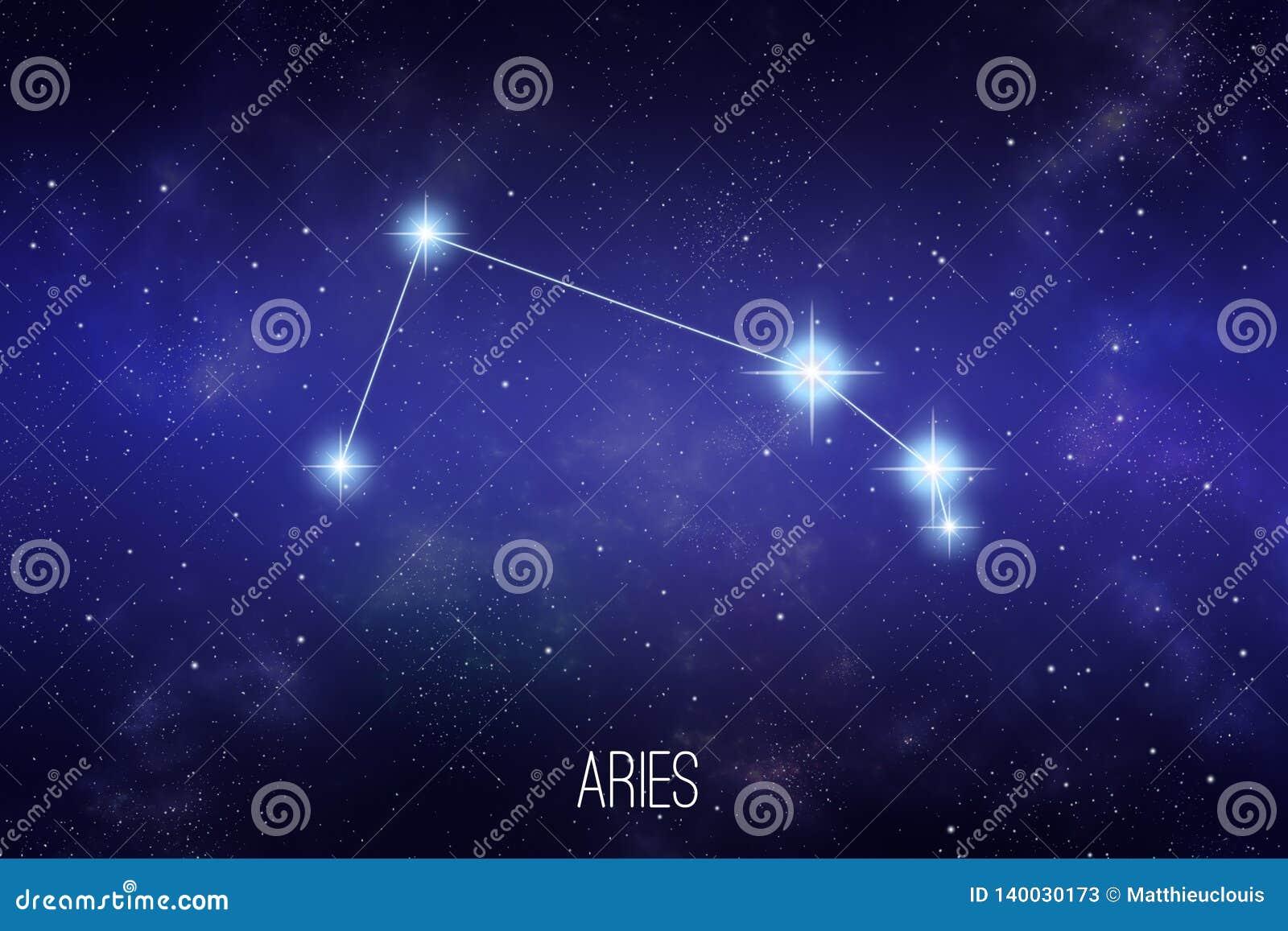 Illustrazione della costellazione dello zodiaco dell Ariete