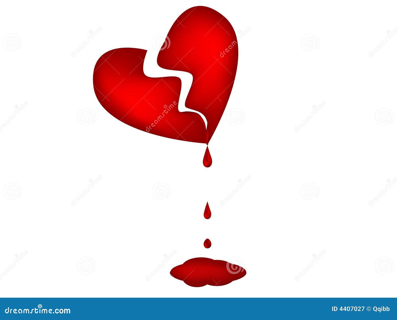 cuore sanguinante