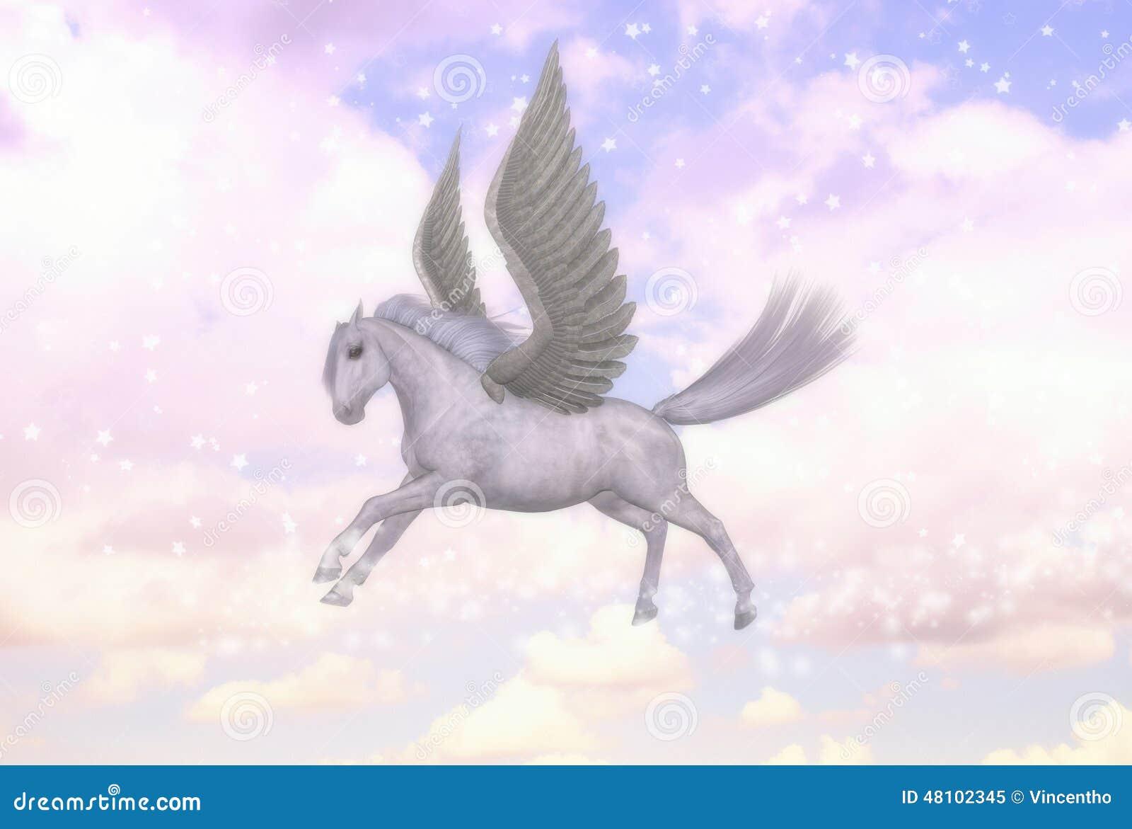 Illustrazione di mitologia greca dello stallone del - Mitologia greca mitologia cavallo uomo ...
