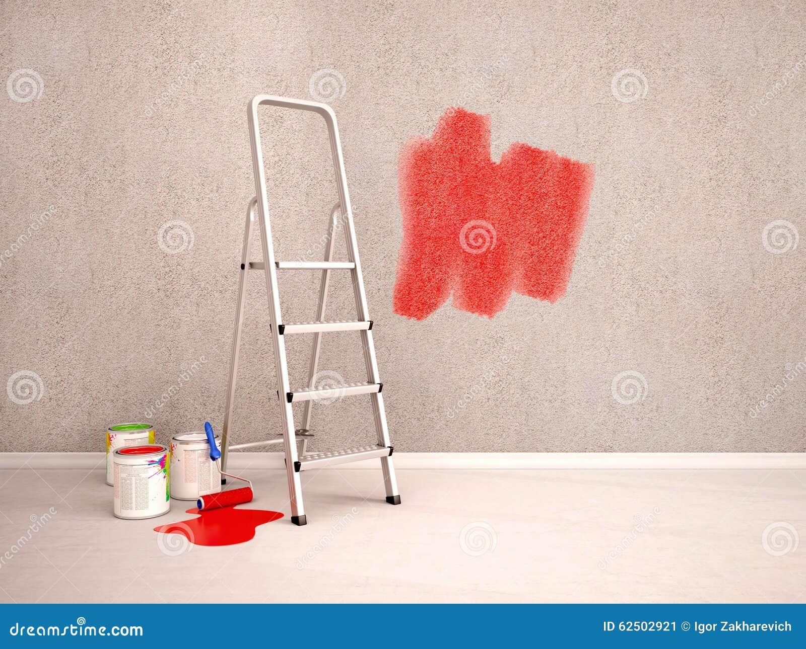 Colori Vernici Pareti: Pittura per pareti colore diverso ...