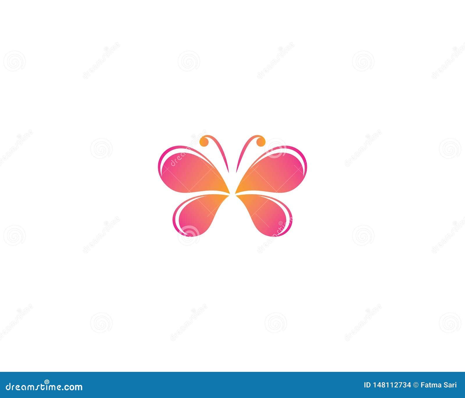 Illustrazione di simbolo della farfalla