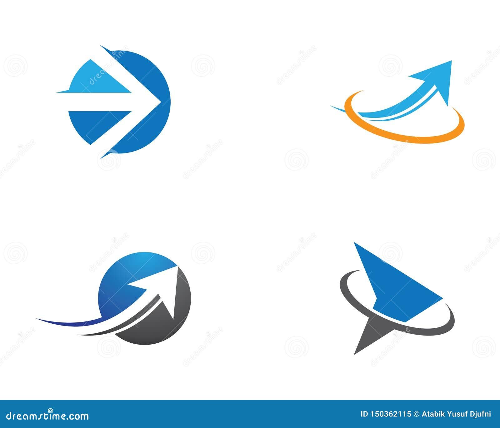 Illustrazione di simbolo della freccia