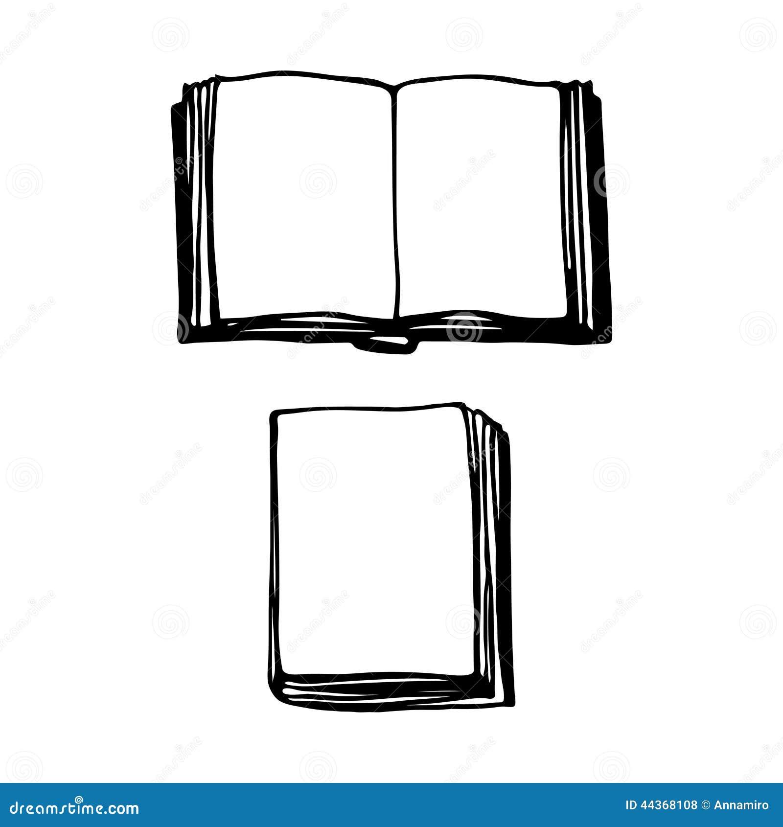 Illustrazione di vettore dei libri