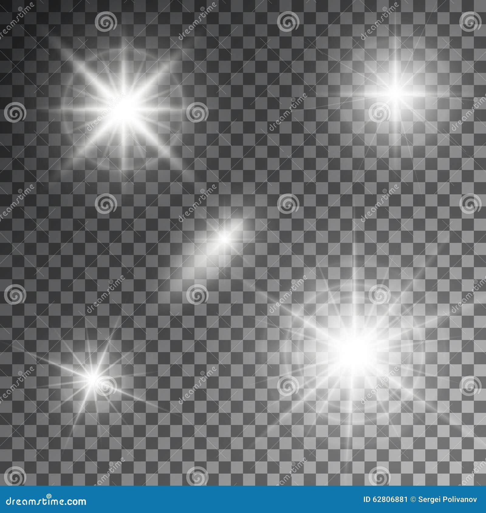 Illustrazione di vettore dei raggi luminosi del chiarore astratto