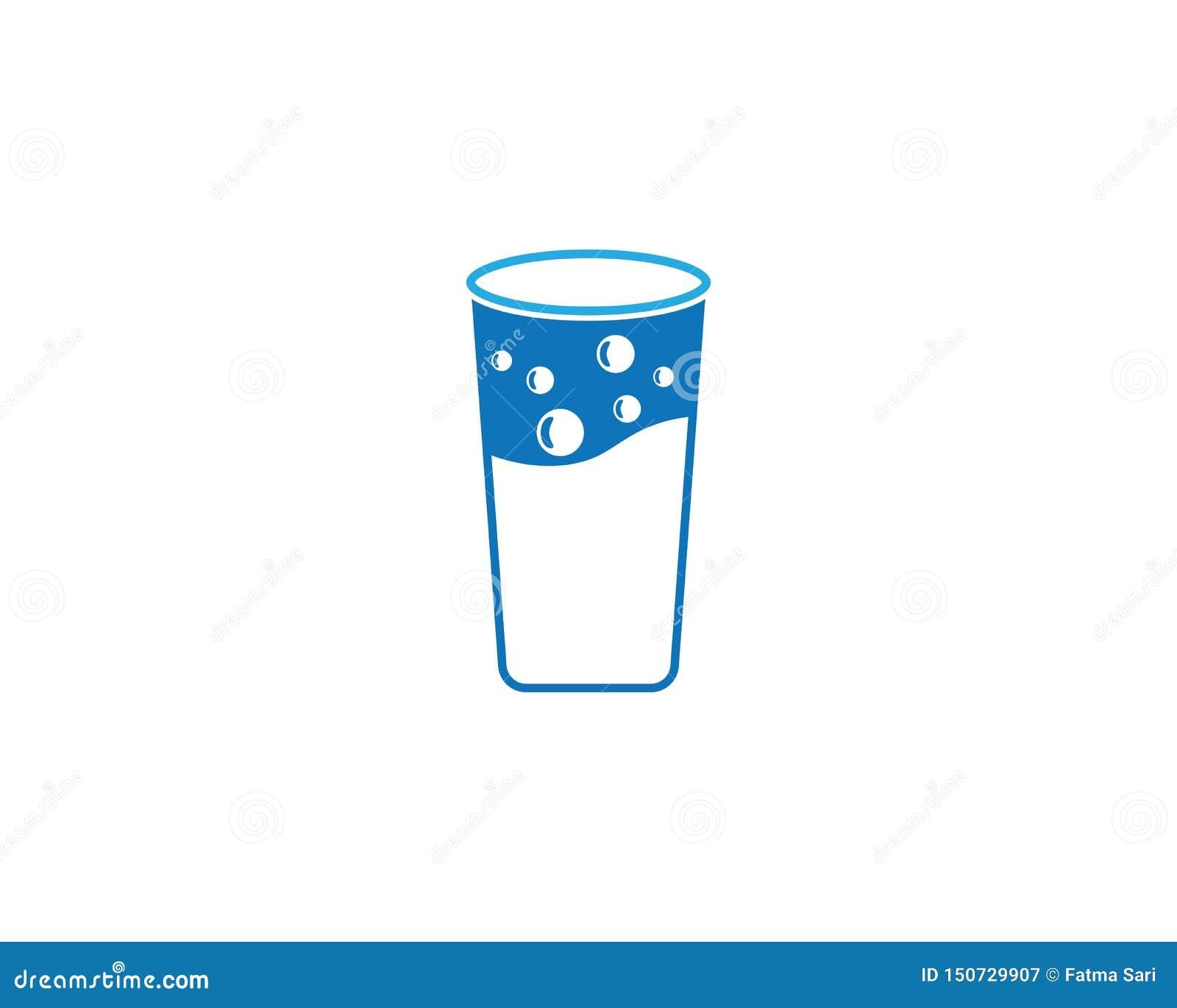 Illustrazione di vettore del bicchiere