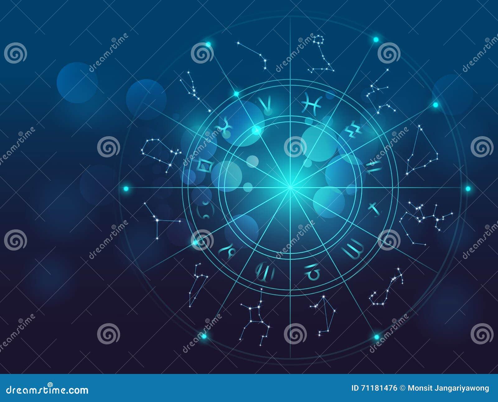 Illustrazione di vettore del fondo del segno di alchemia e di astrologia