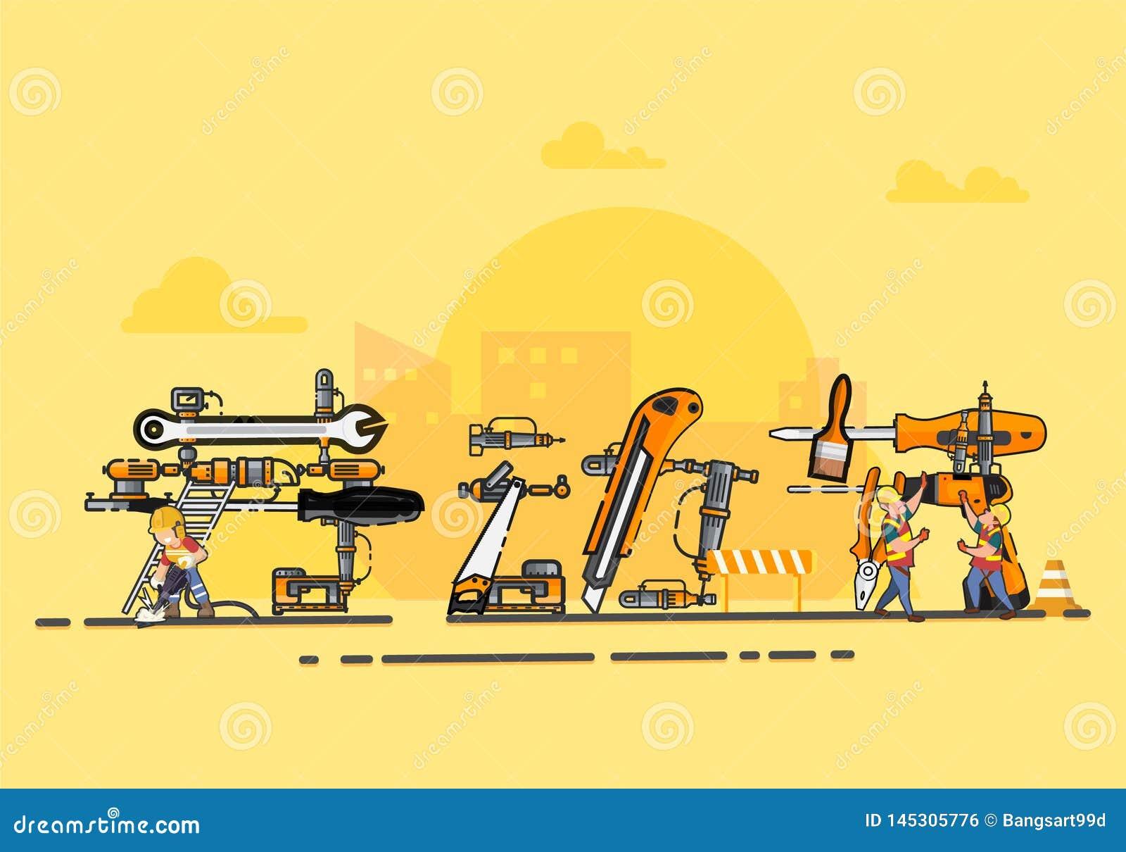 Illustrazione di vettore di festa del lavoro