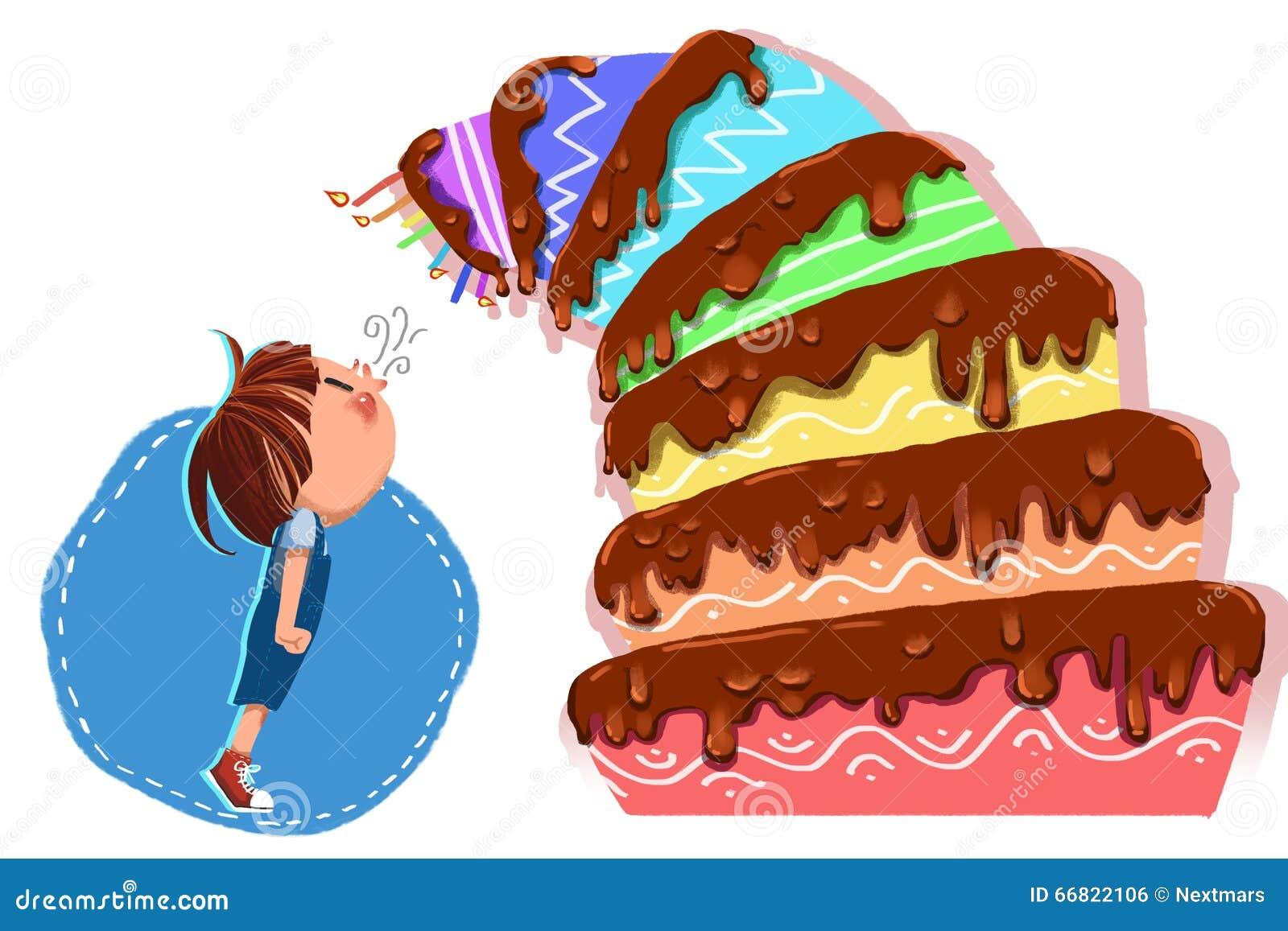 Amato Illustrazione Per I Bambini: Il Piccolo Uomo Di Buon Compleanno  TZ88