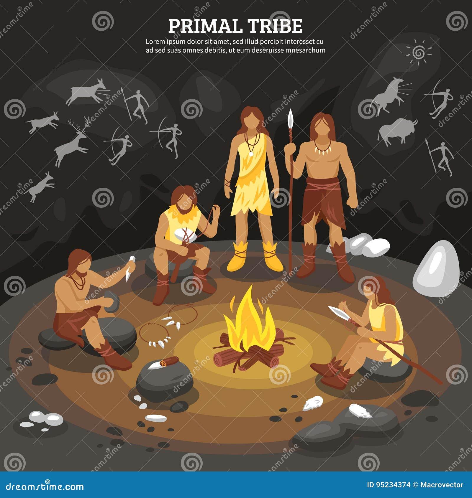 Illustrazione principale della gente della tribù