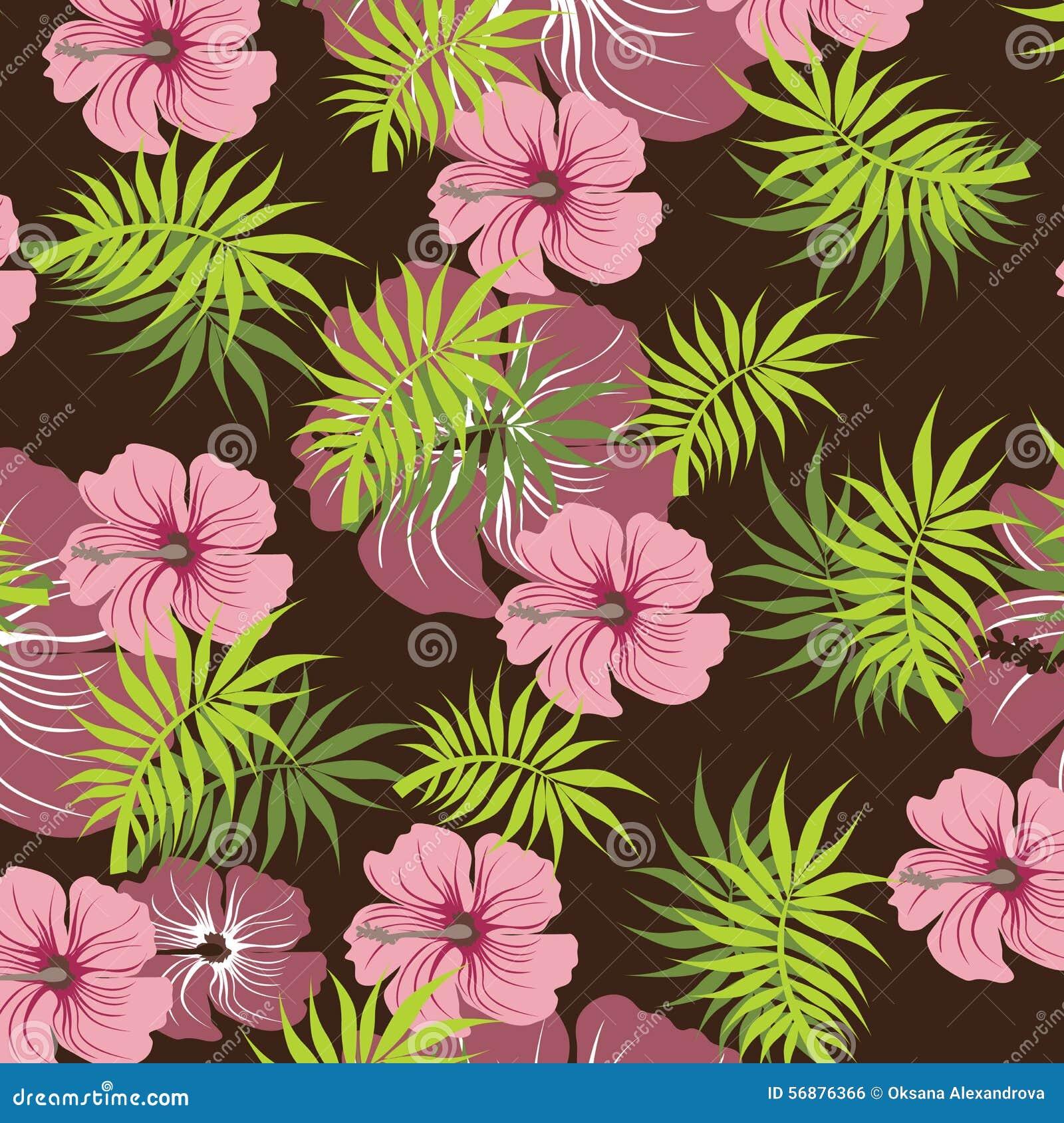 Illustrazione senza cuciture del fiore della primavera