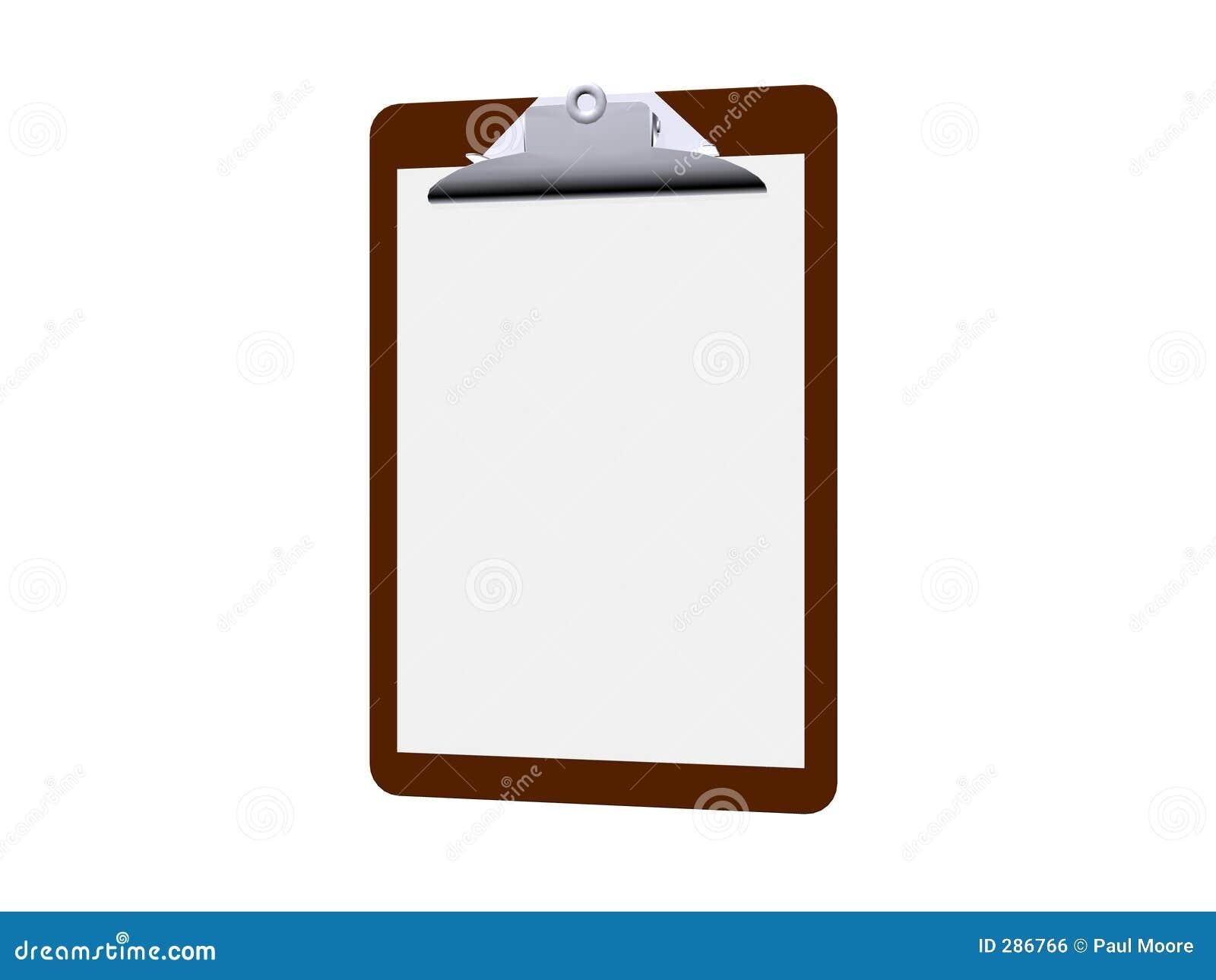 Illustrerad clipboard