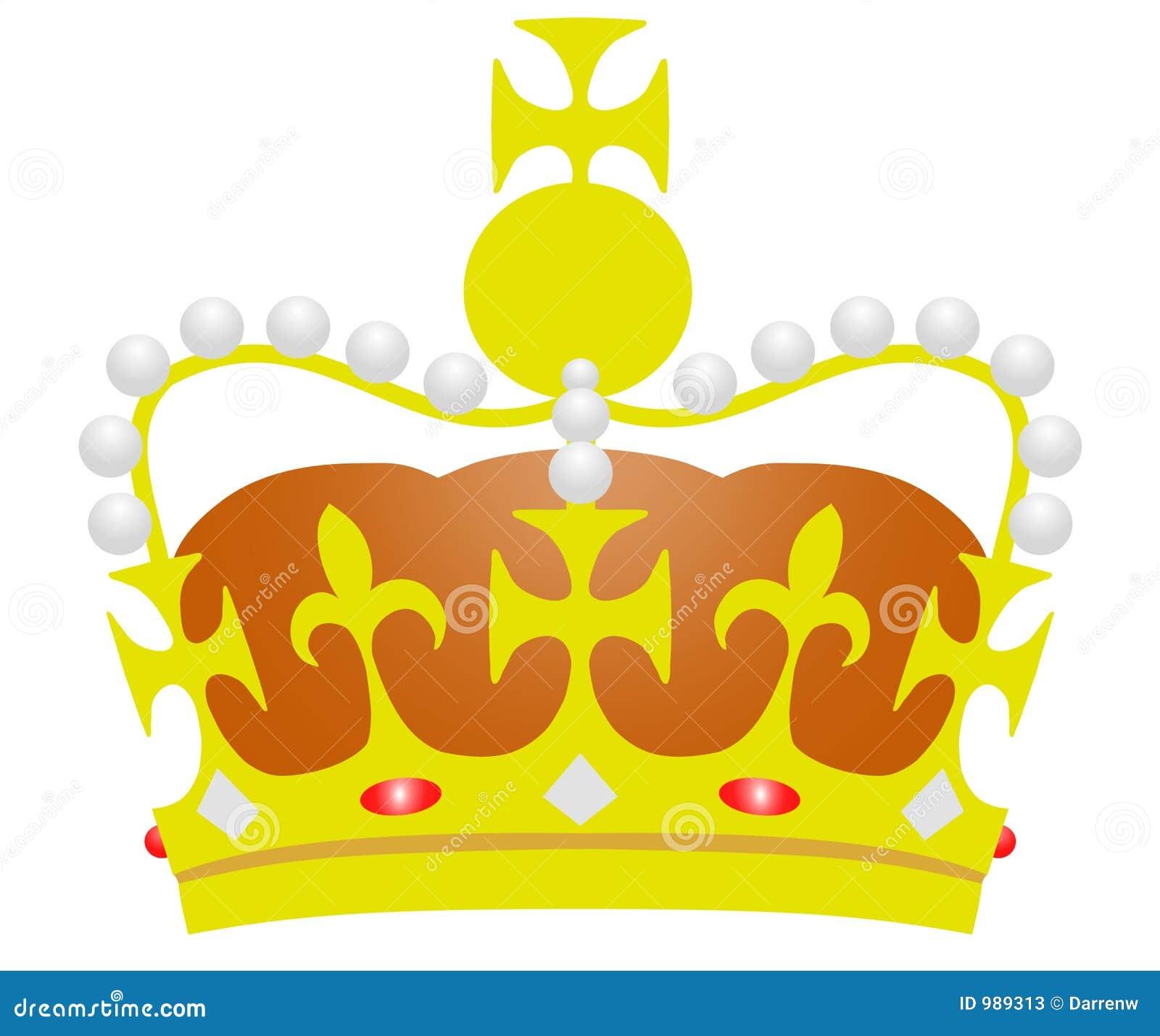 Illustrerad krona
