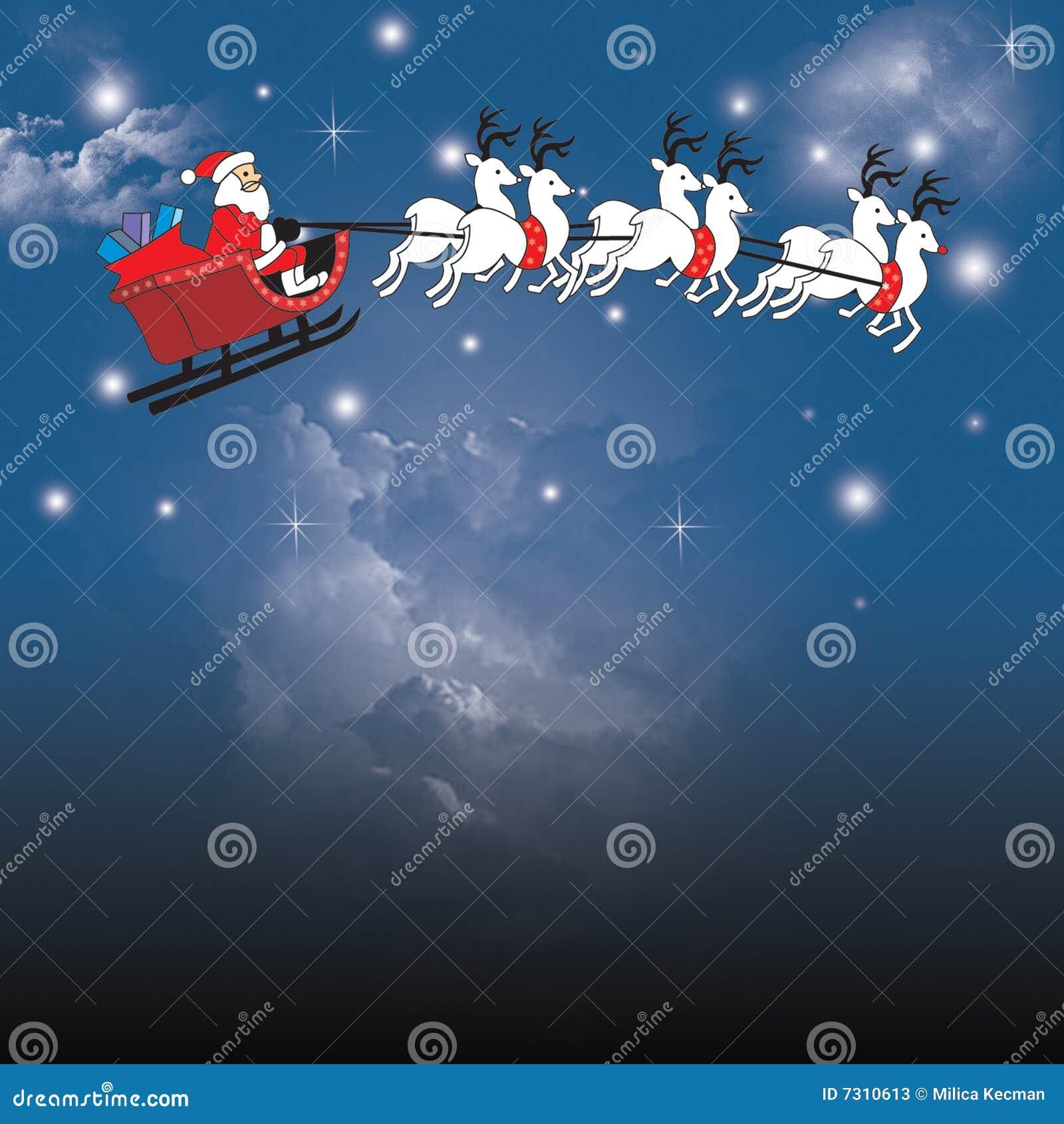 Illustrtion della slitta della Santa