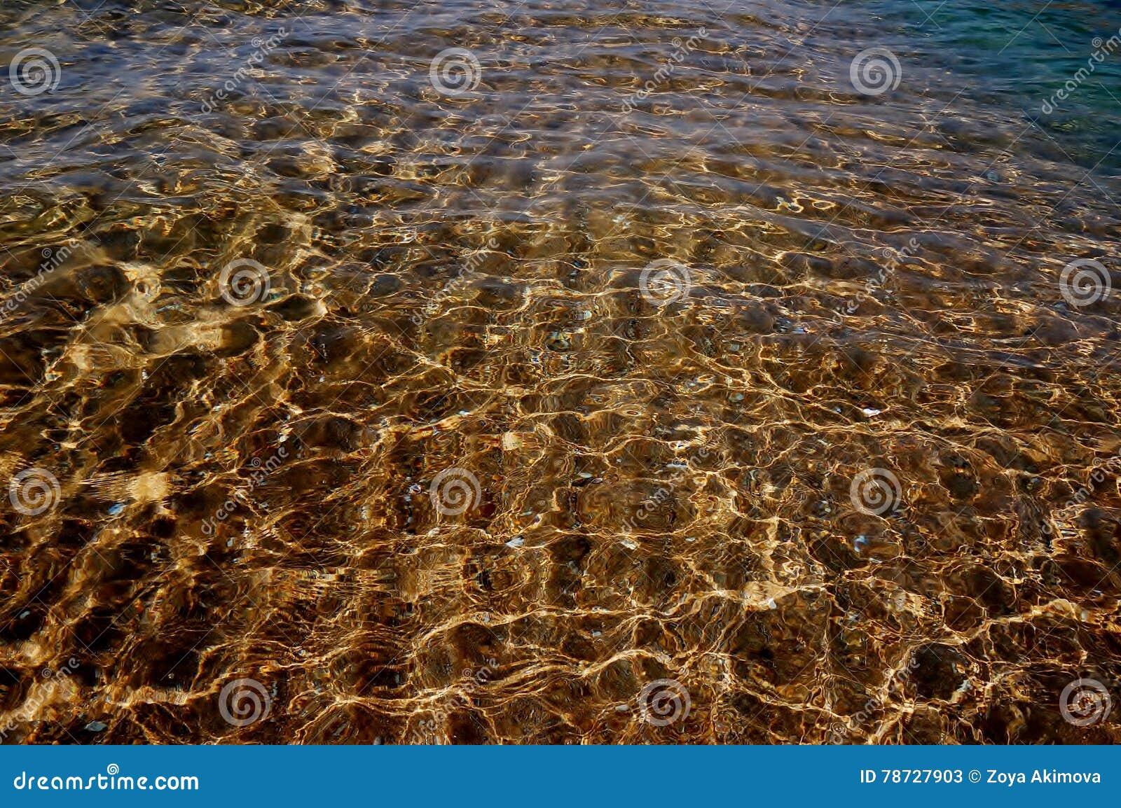 Ilsken blick på vattnet