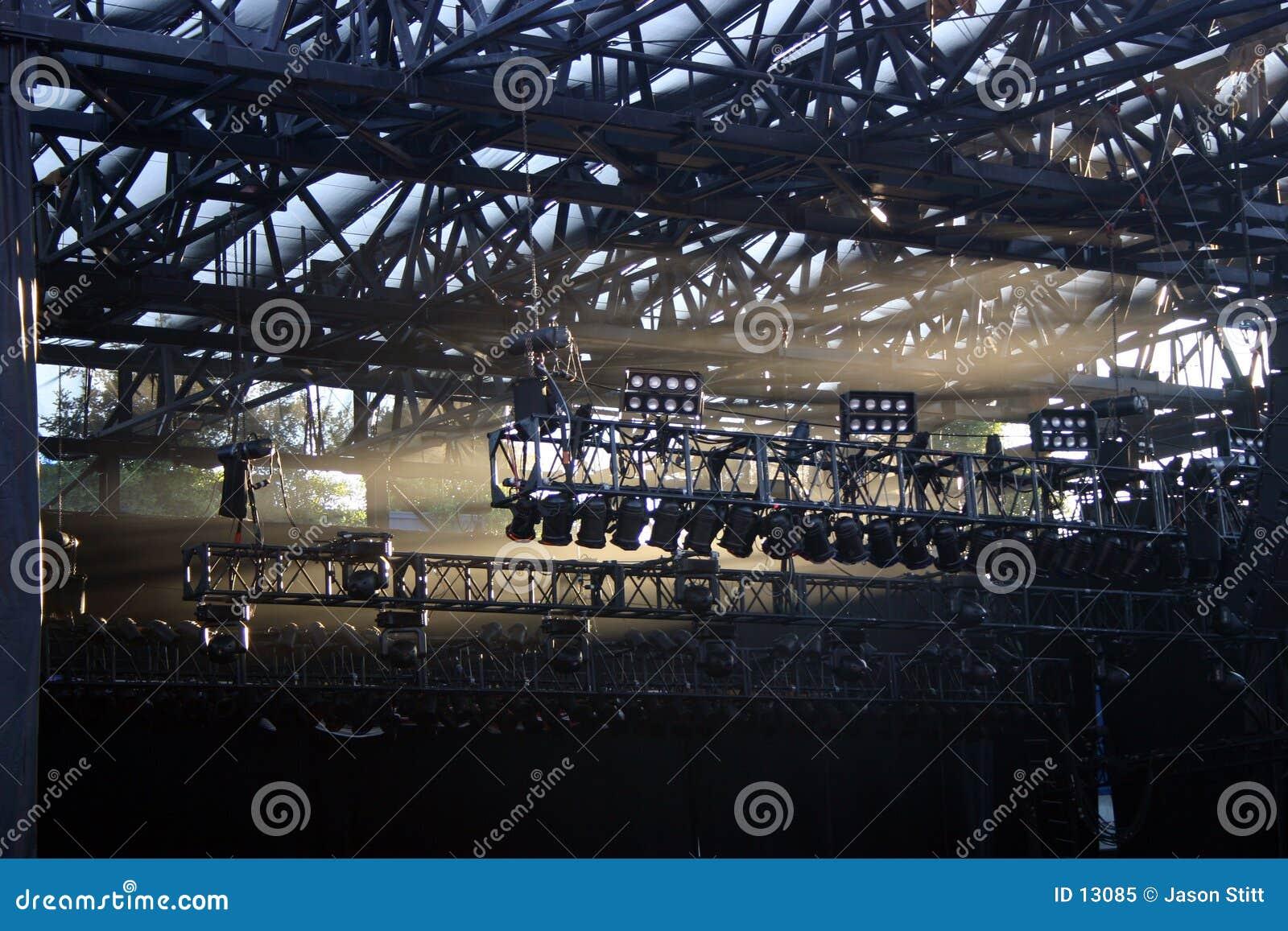 Iluminação do concerto
