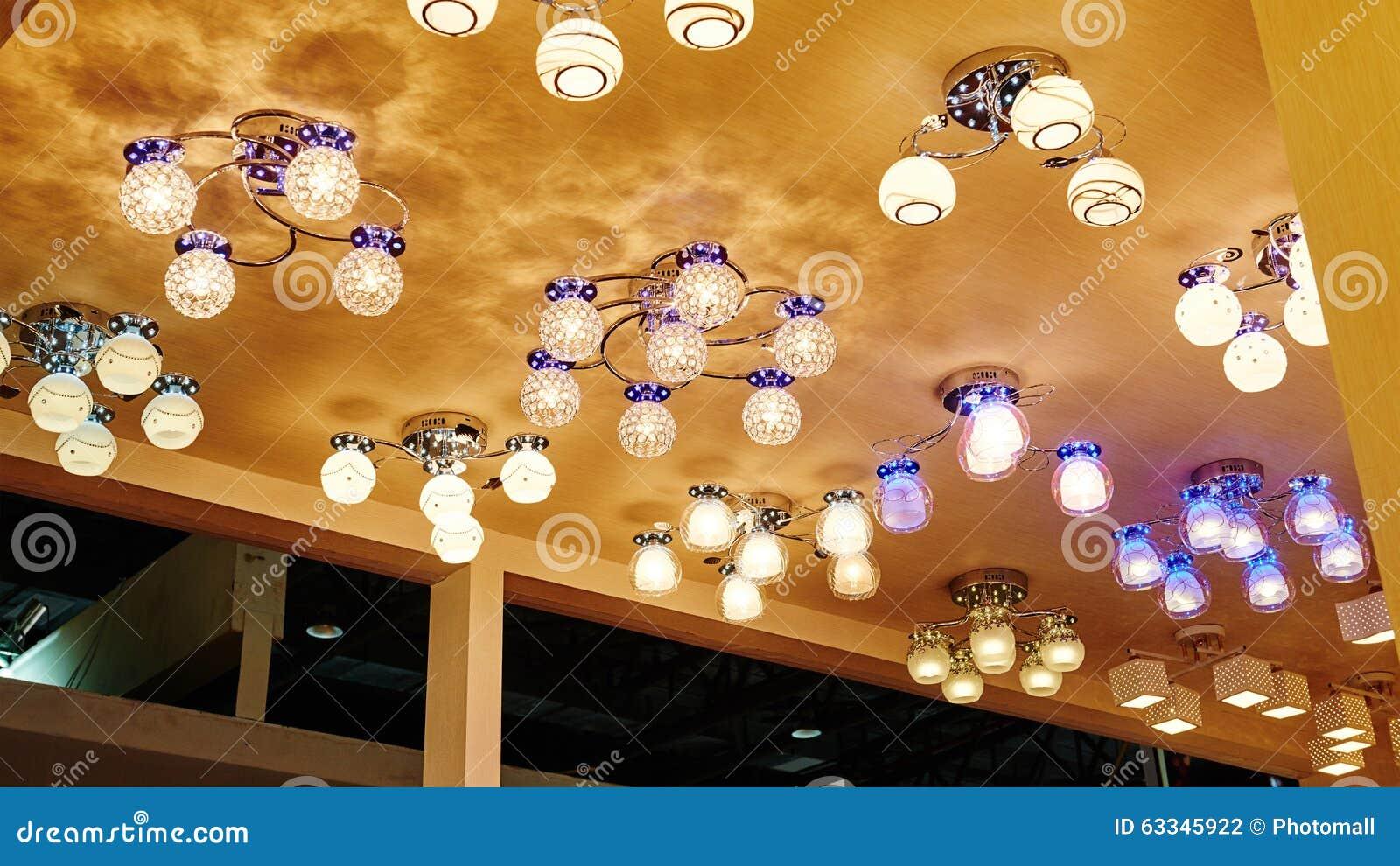 Iluminação do teto do diodo emissor de luz