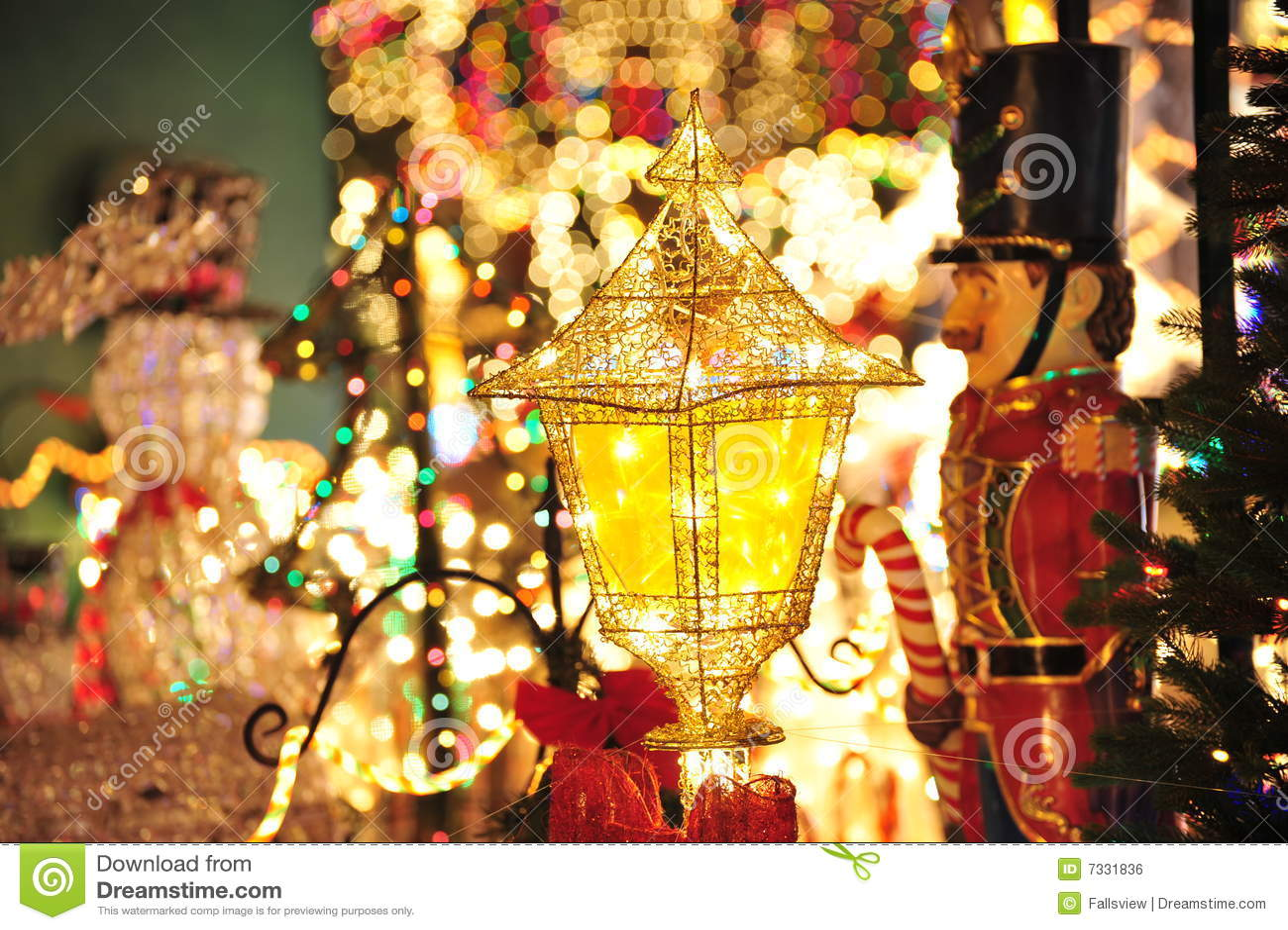 Iluminación de la decoración