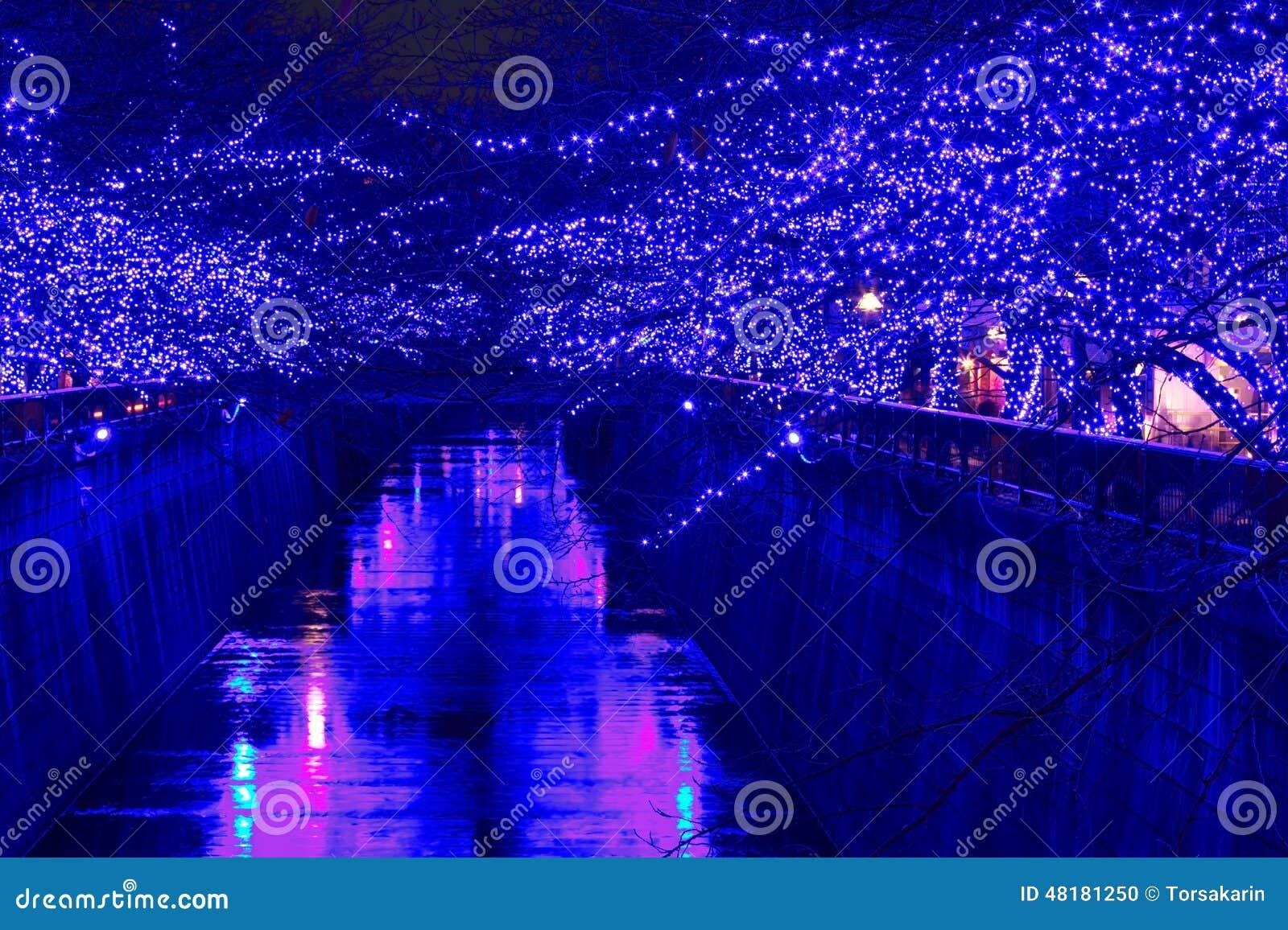 Iluminación de la Navidad de Tokio