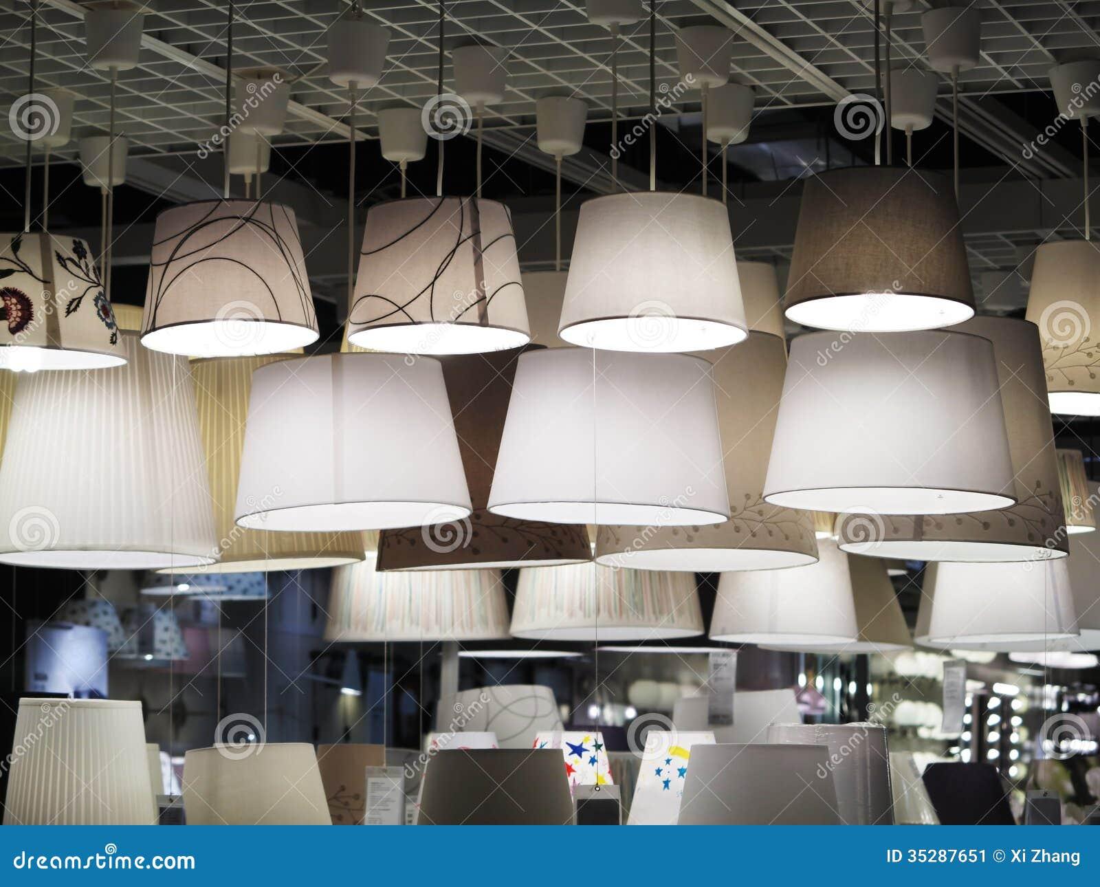 Iluminación de la tienda