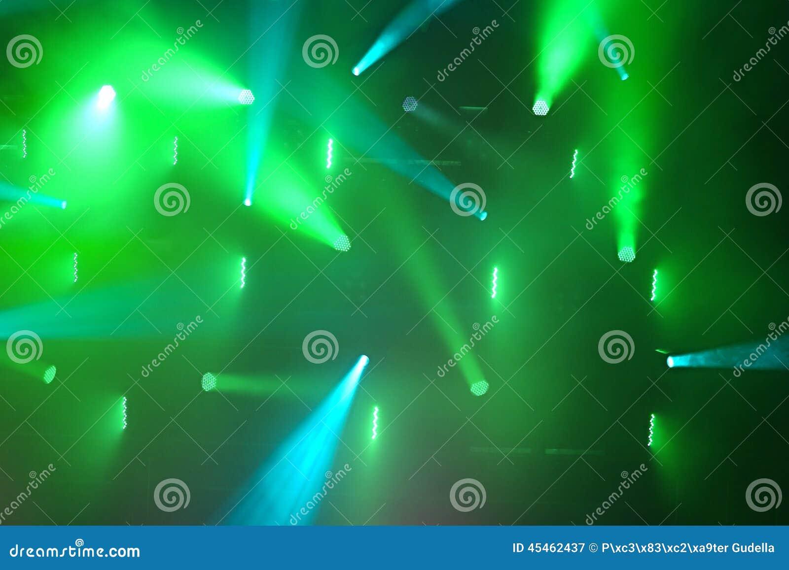 Iluminación del concierto