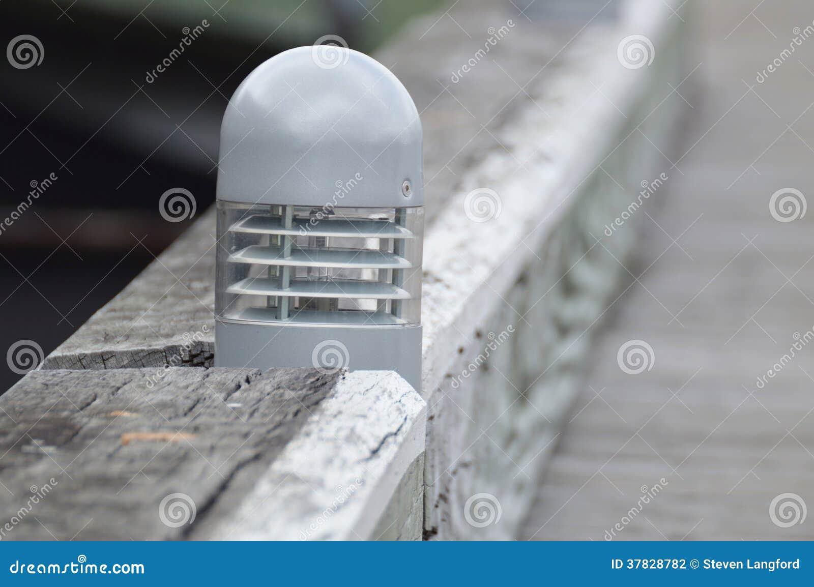 Iluminación del embarcadero