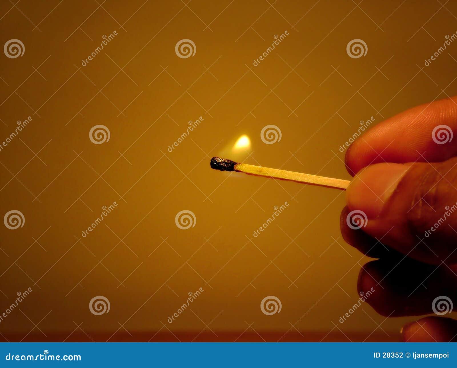 Ilumine o incêndio