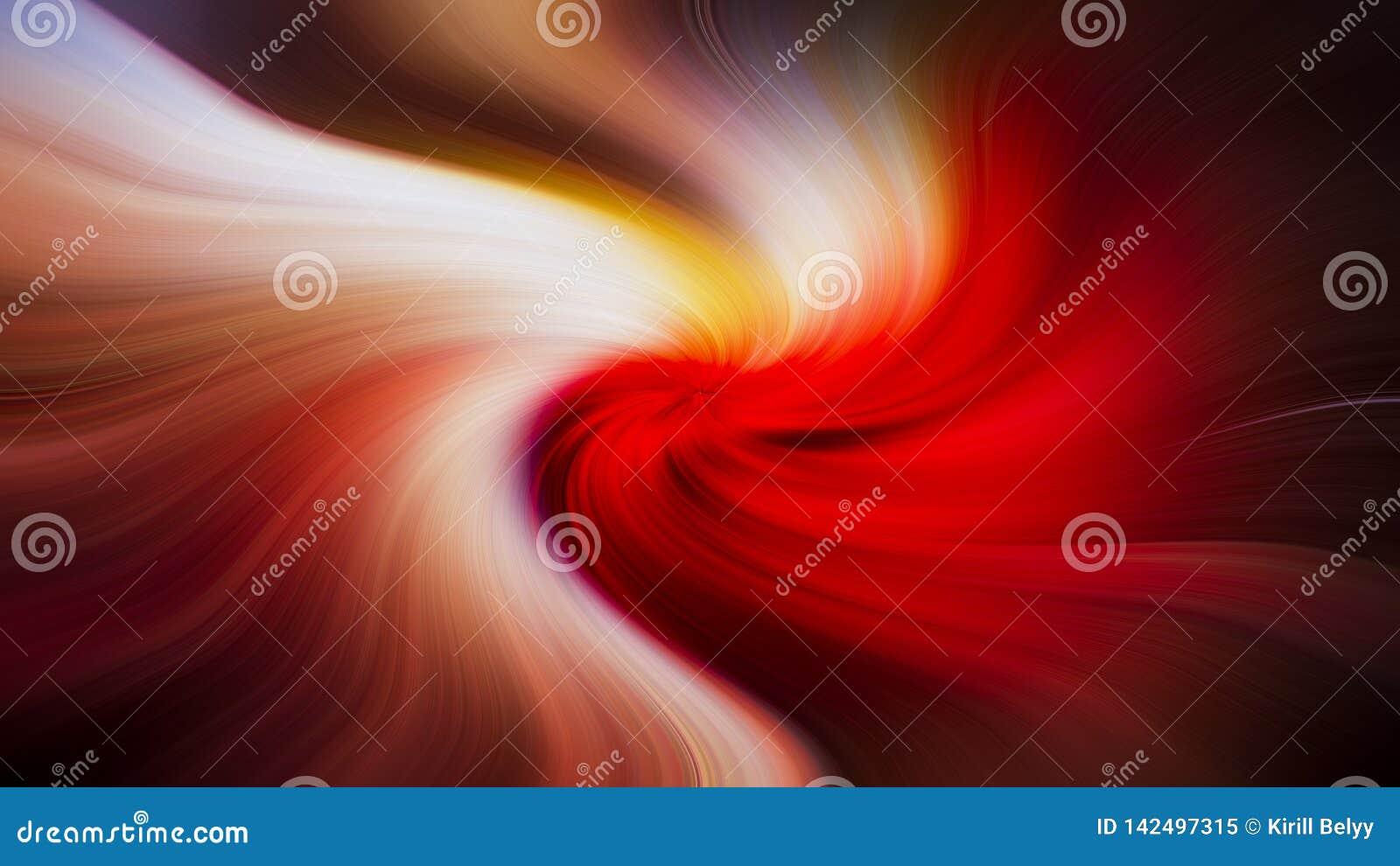 Ilustração abstrata colorida brilhante