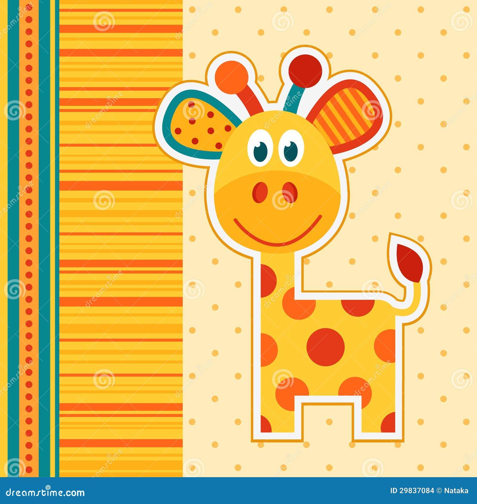 Vetor do girafa