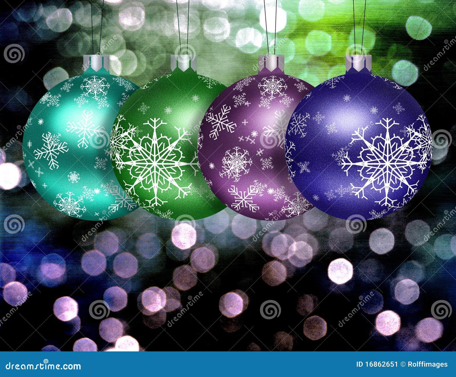 Ilustração da esfera da árvore de Natal