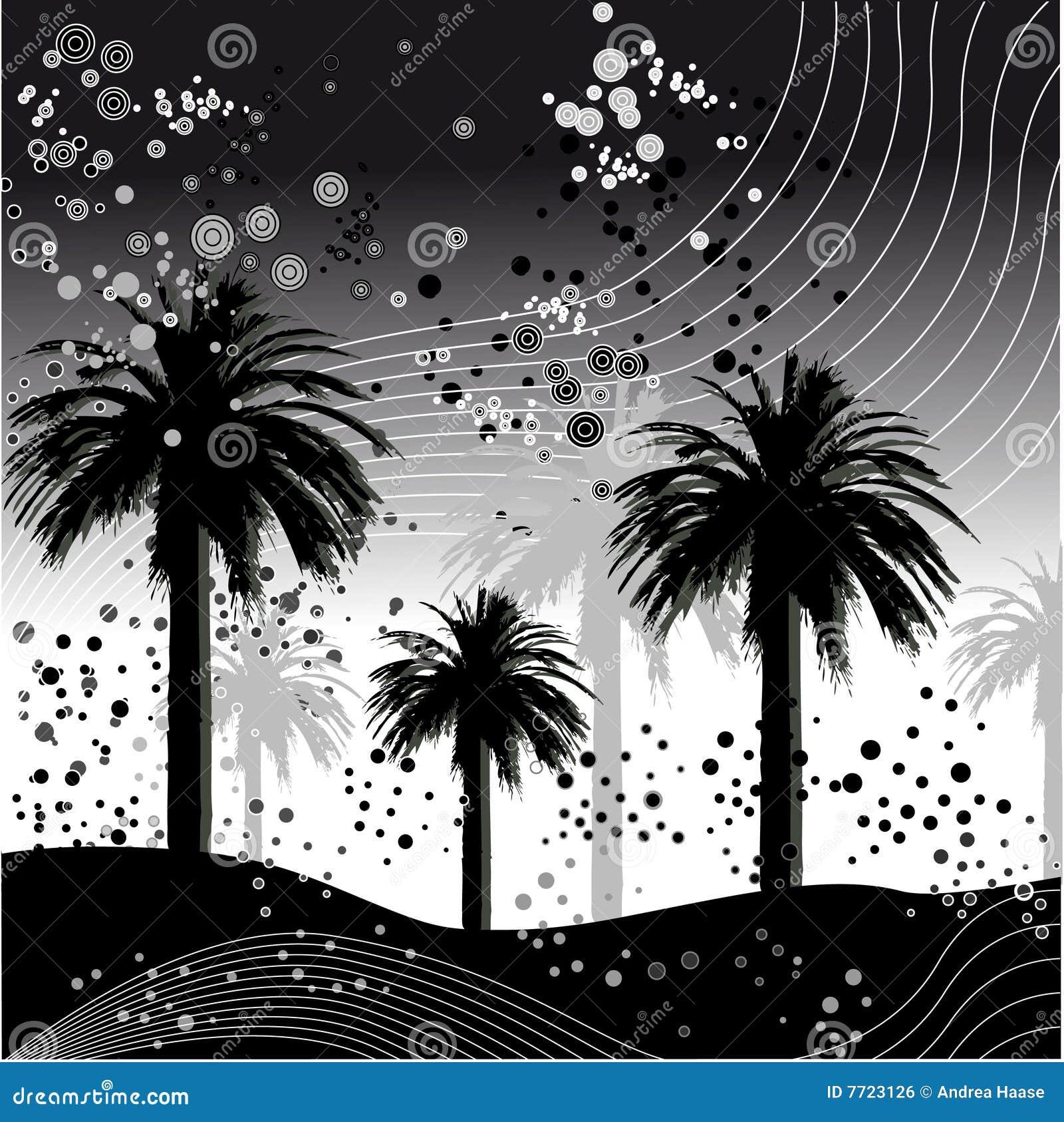 Ilustração da palmeira