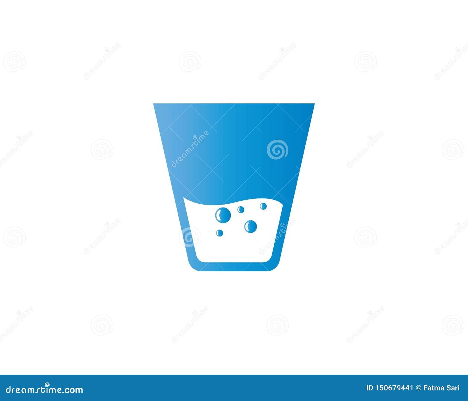 Ilustração de vidro bebendo do vetor