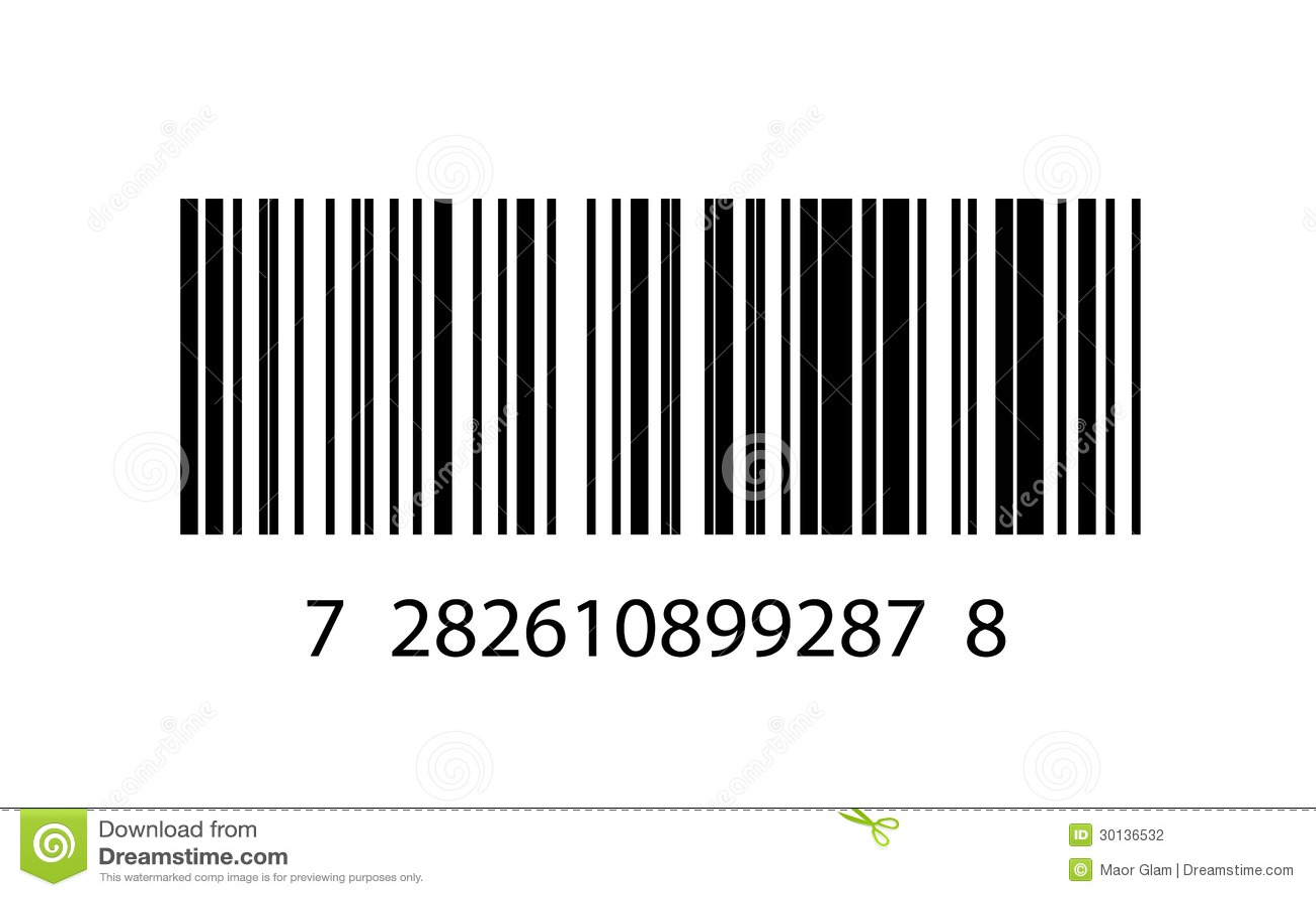 Ilustração Do ícone Do Código De Barras