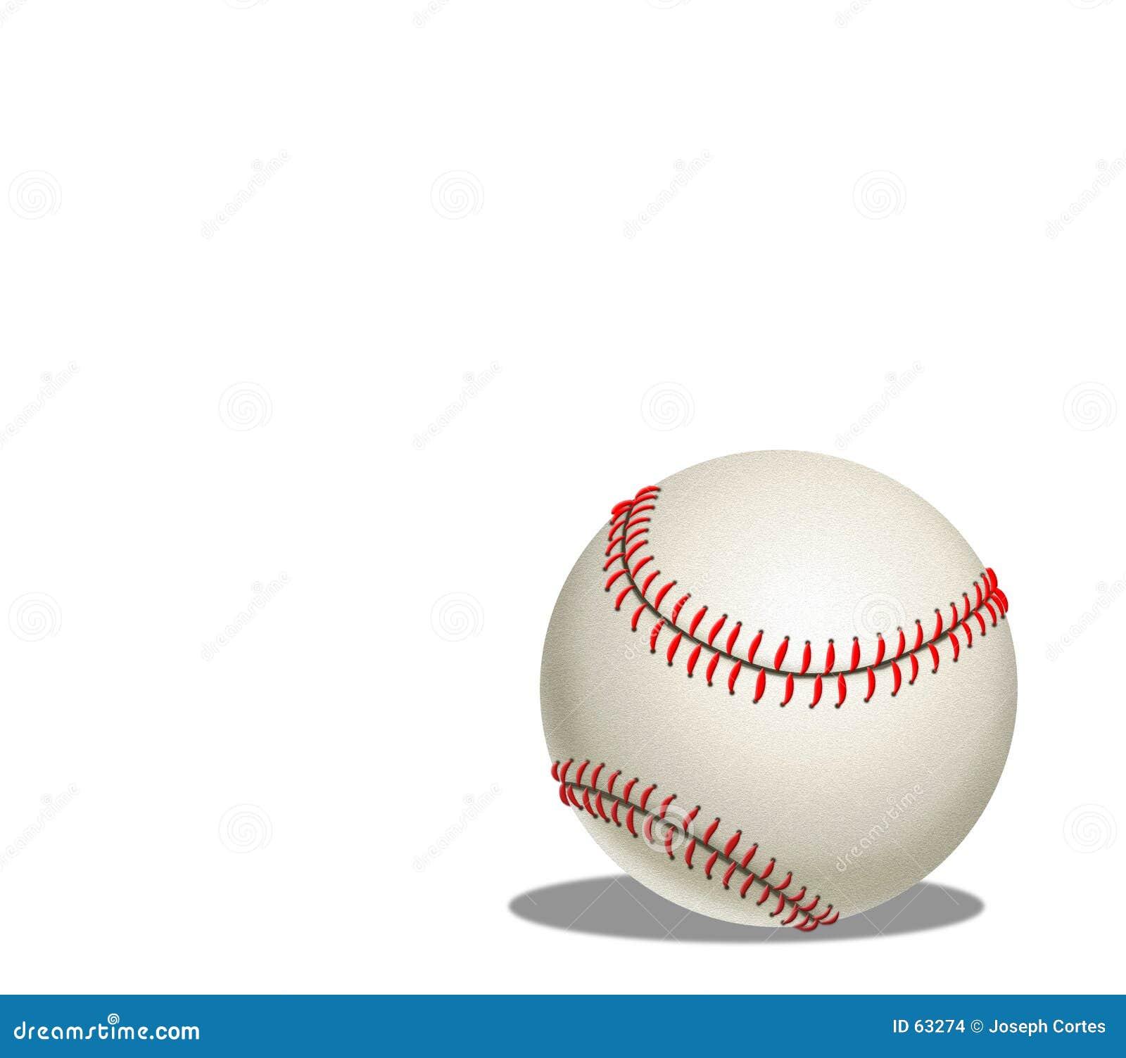 Ilustração do basebol