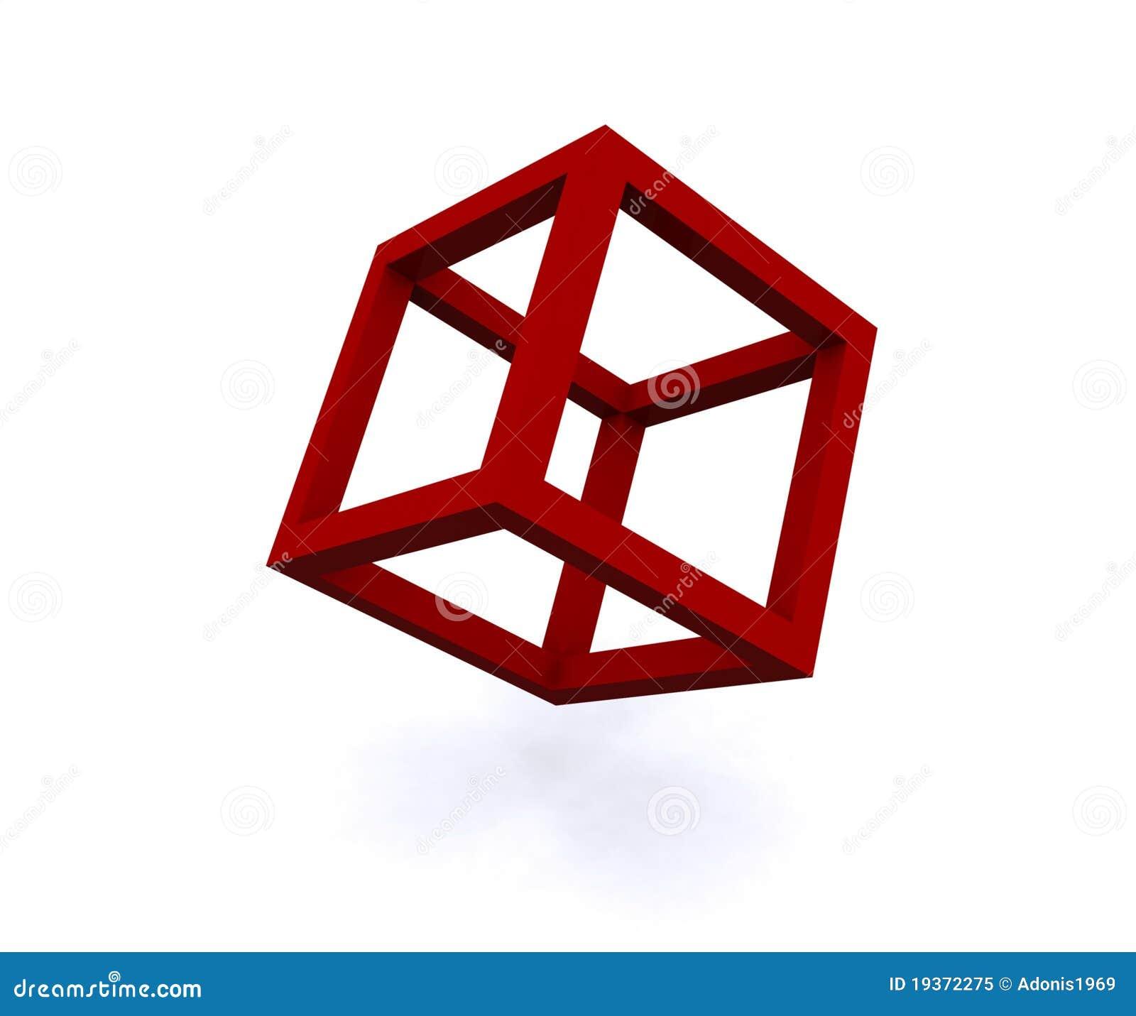 Ilustração do cubo